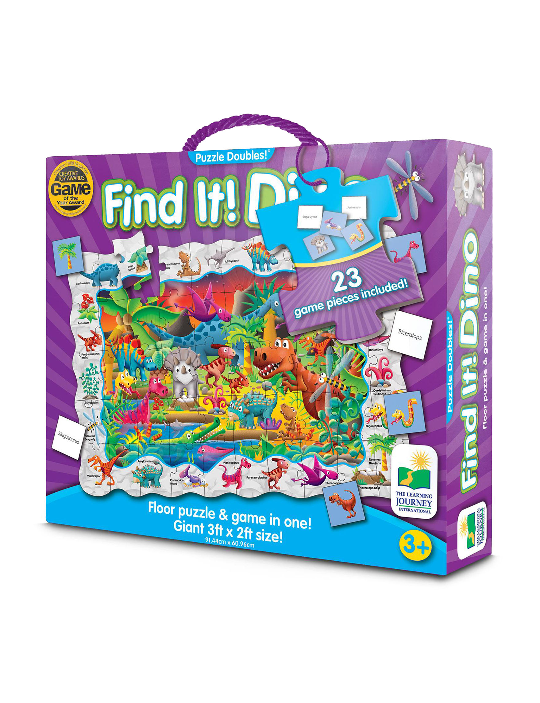 The Learning Journey Purple Multi Puzzles
