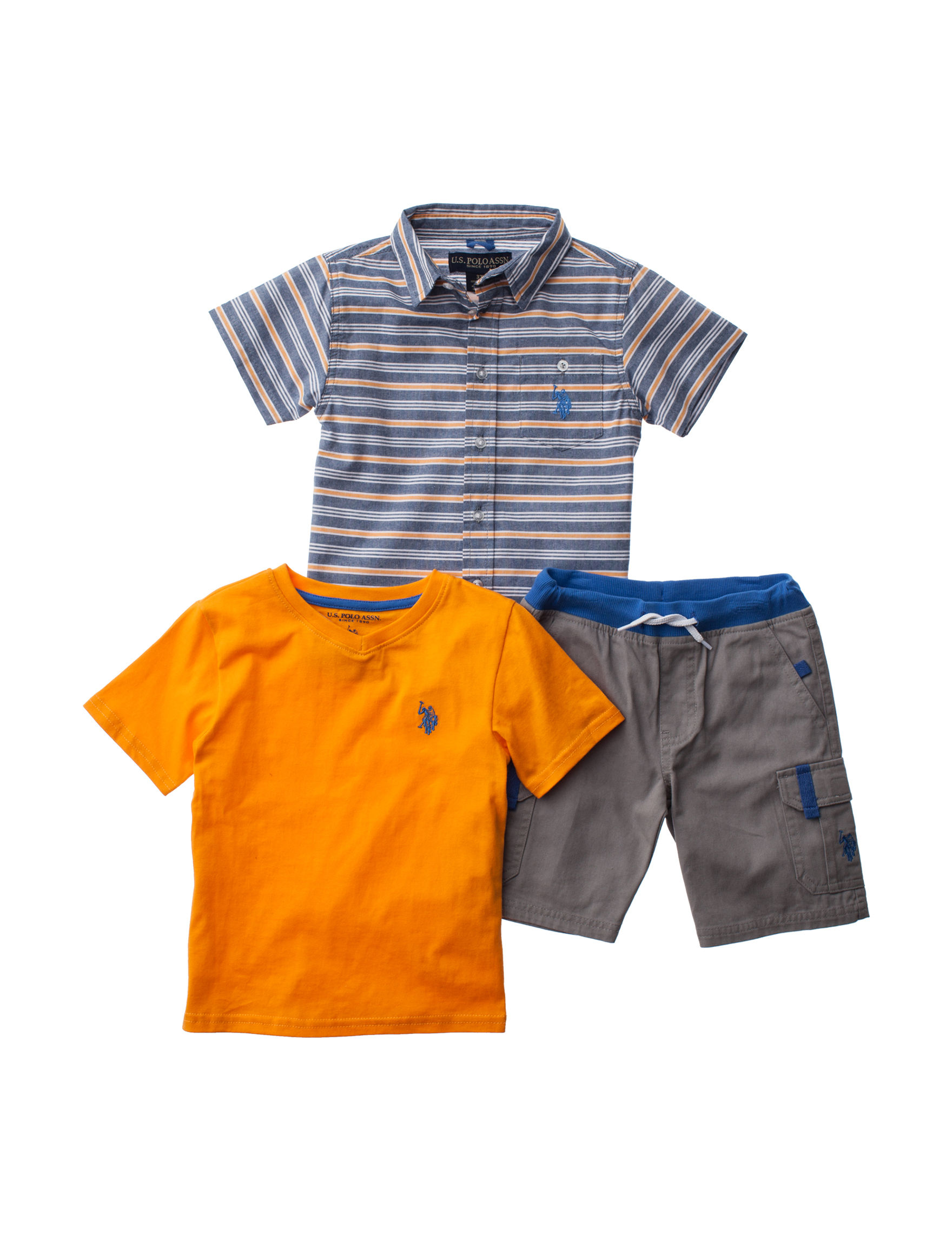 U.S. Polo Assn. Orange Multi