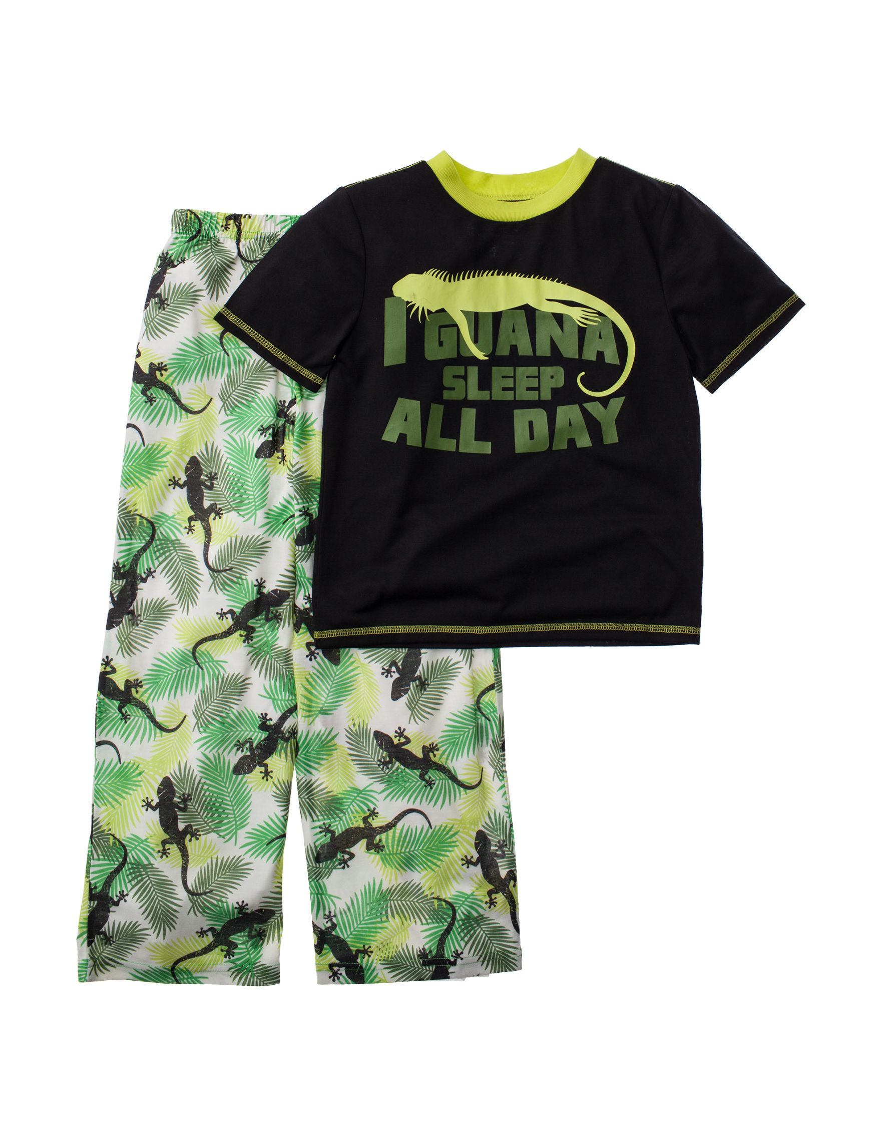 Komar Kids Lime Pajama Sets