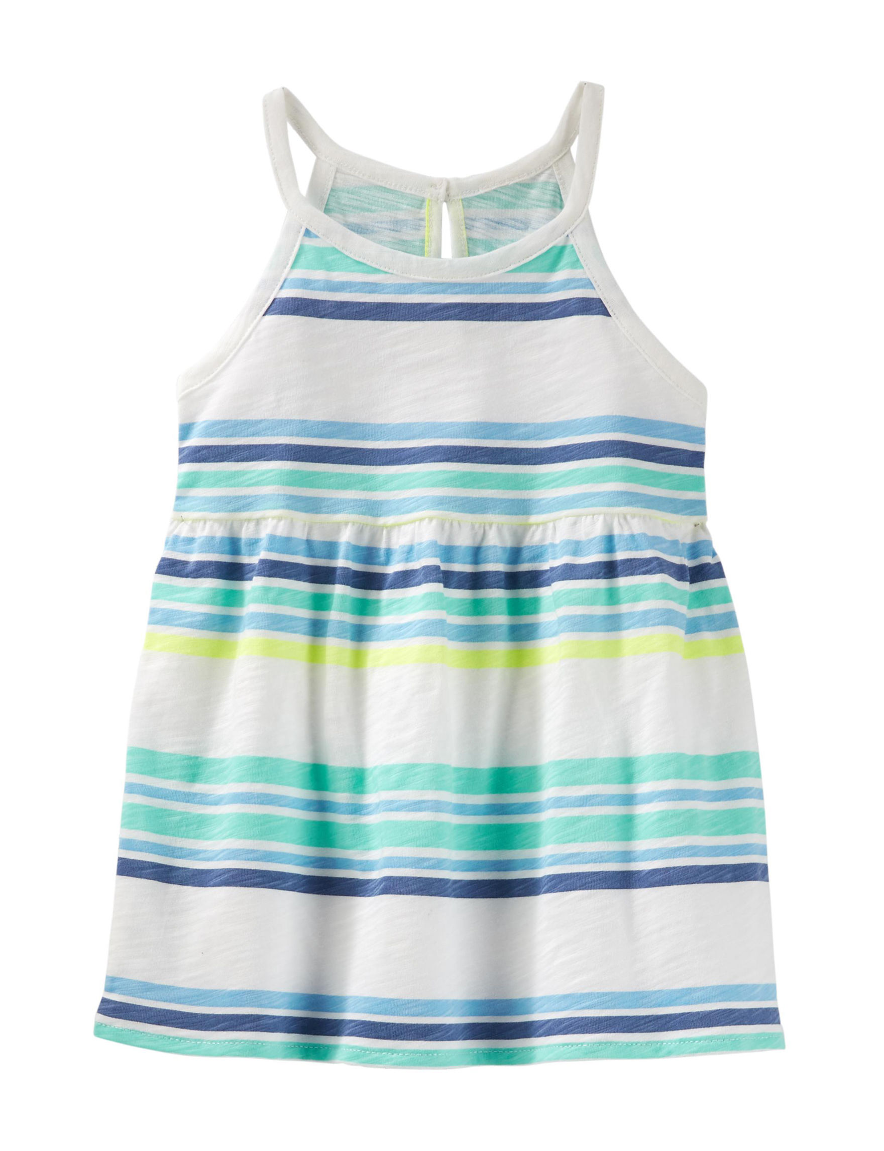 Oshkosh B'Gosh White Stripe