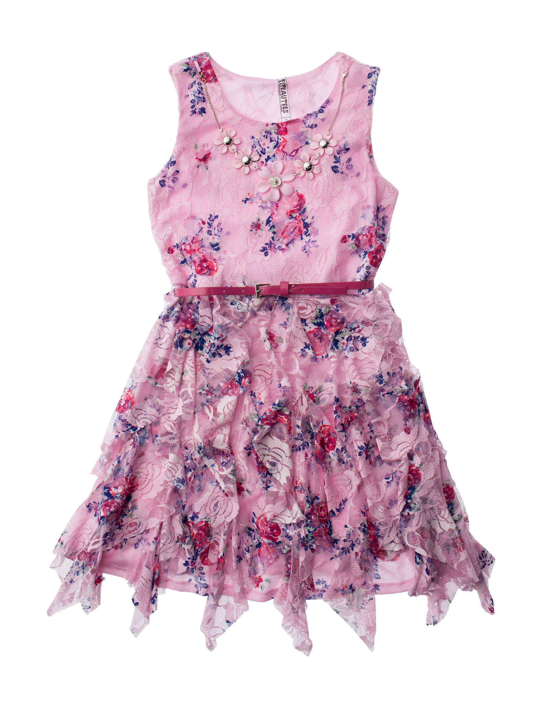 Beautees Pink Floral