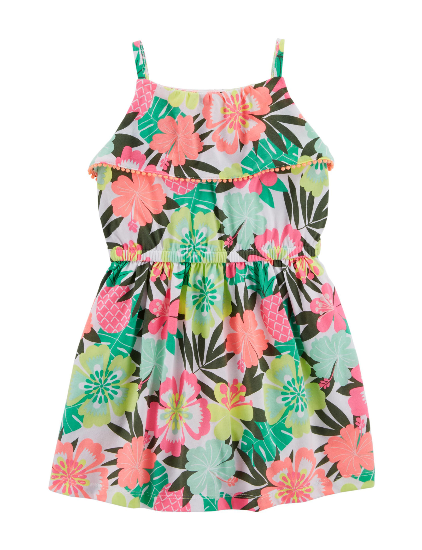 Carter's Green Floral
