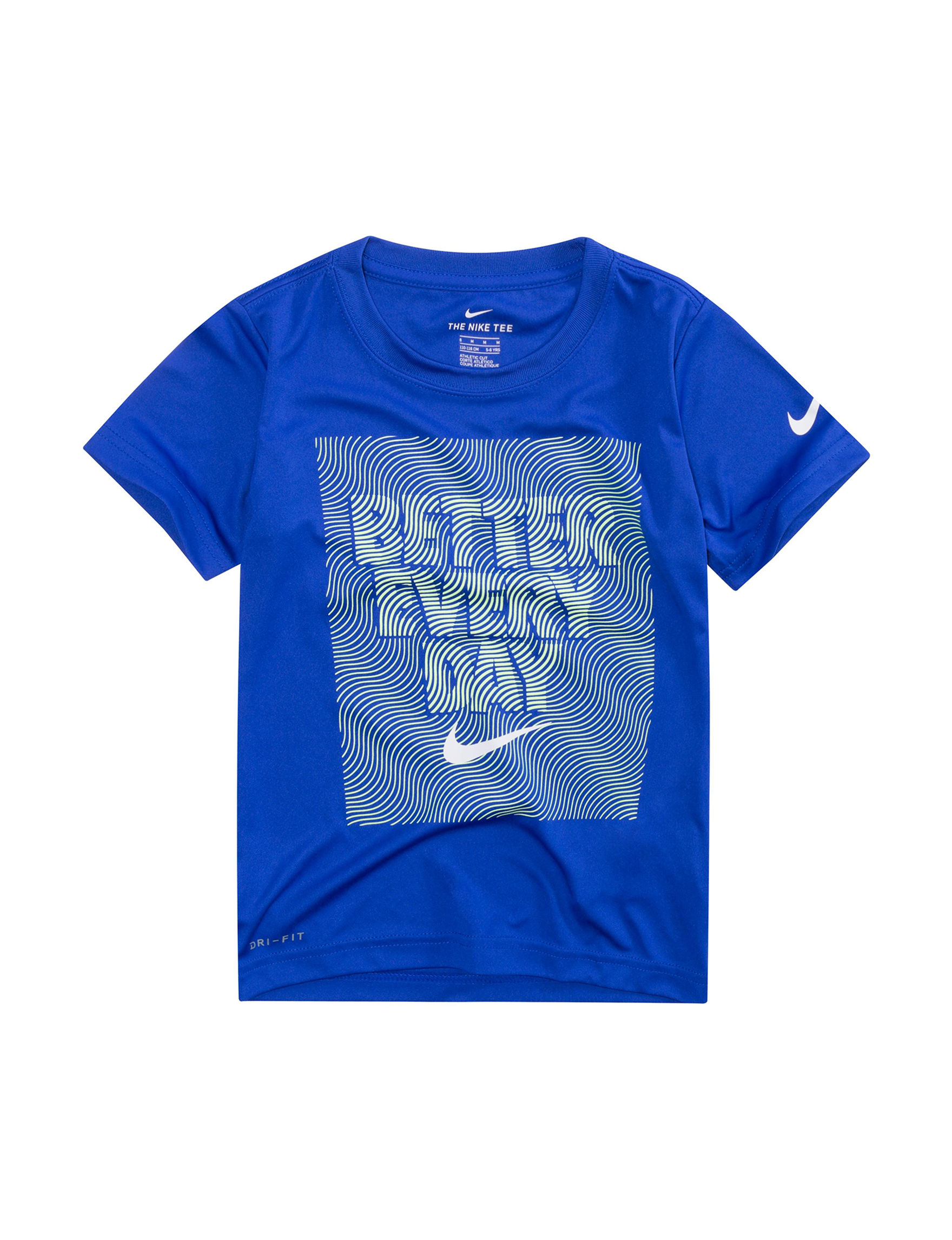 Nike Royal Blue Tees & Tanks