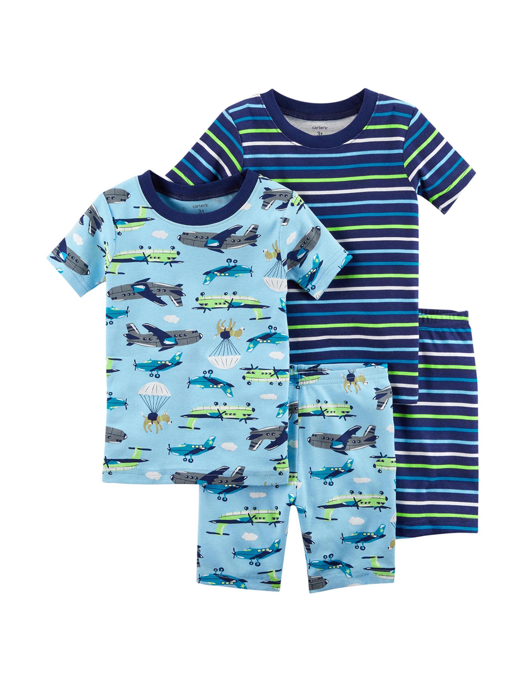 Carter's Blue / Multi Pajama Sets