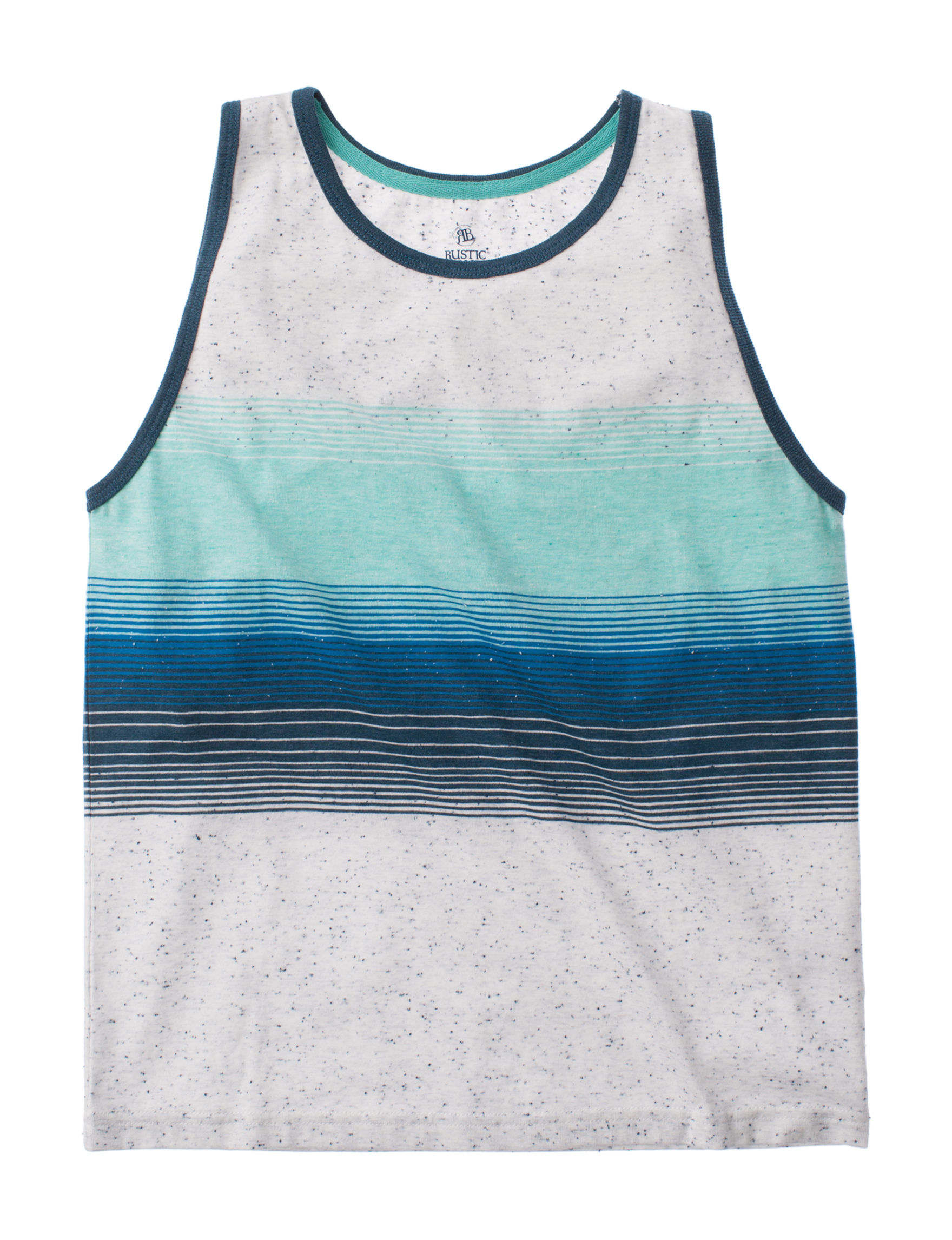 Rustic Blue Blue Stripe Tees & Tanks