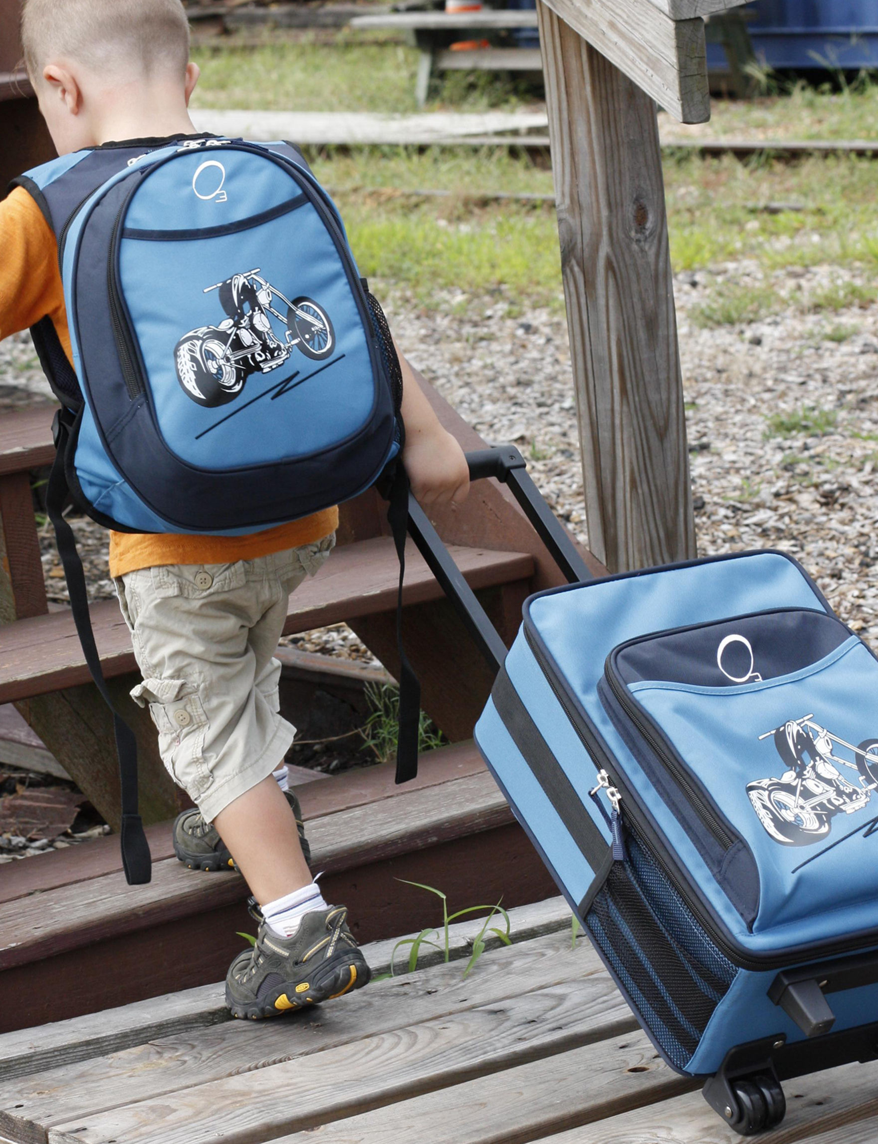 Obersee Blue Bookbags & Backpacks Diaper Bags