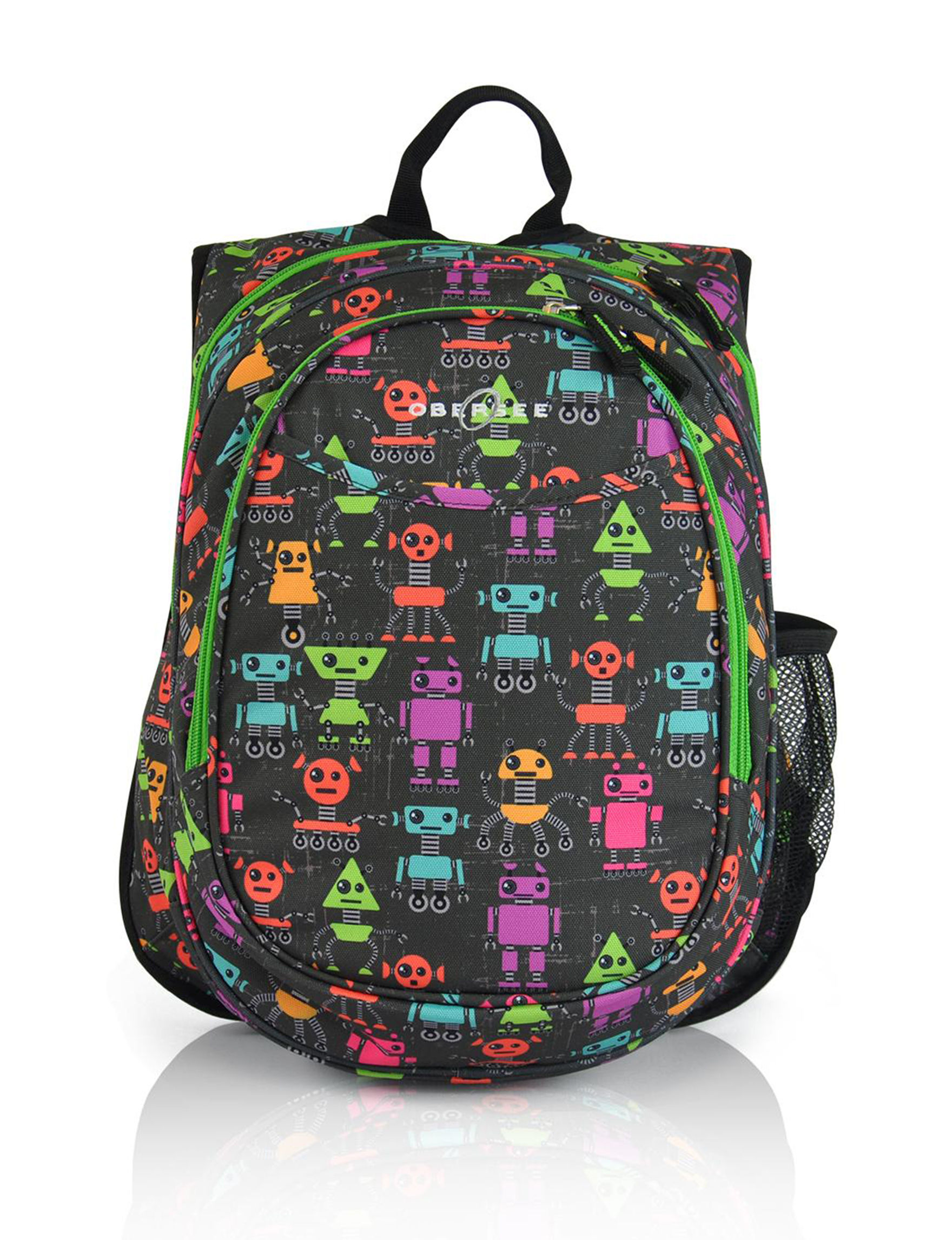 Obersee Black Multi Bookbags & Backpacks Diaper Bags