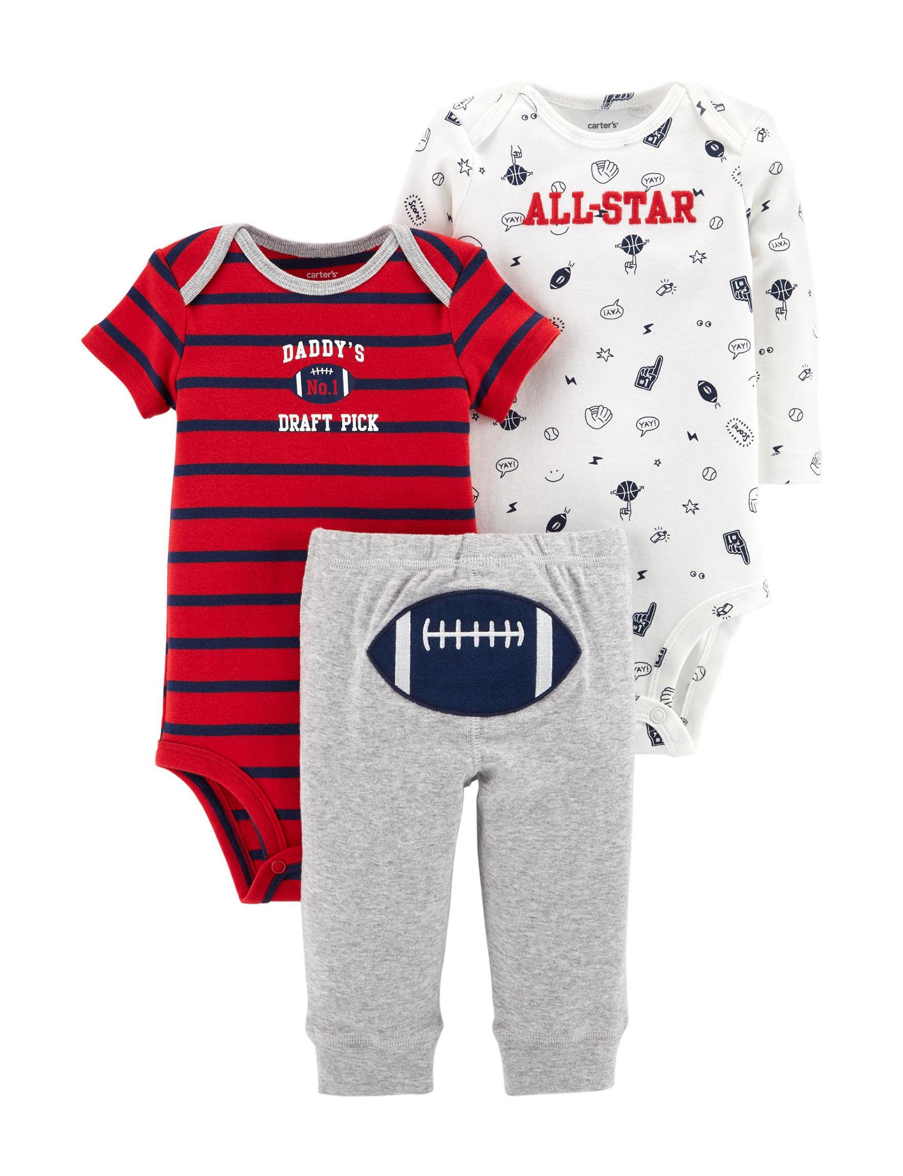 9b782438b UPC 889338674233 product image for Carter's 3-pc. Football Turn Me Set -  Baby ...