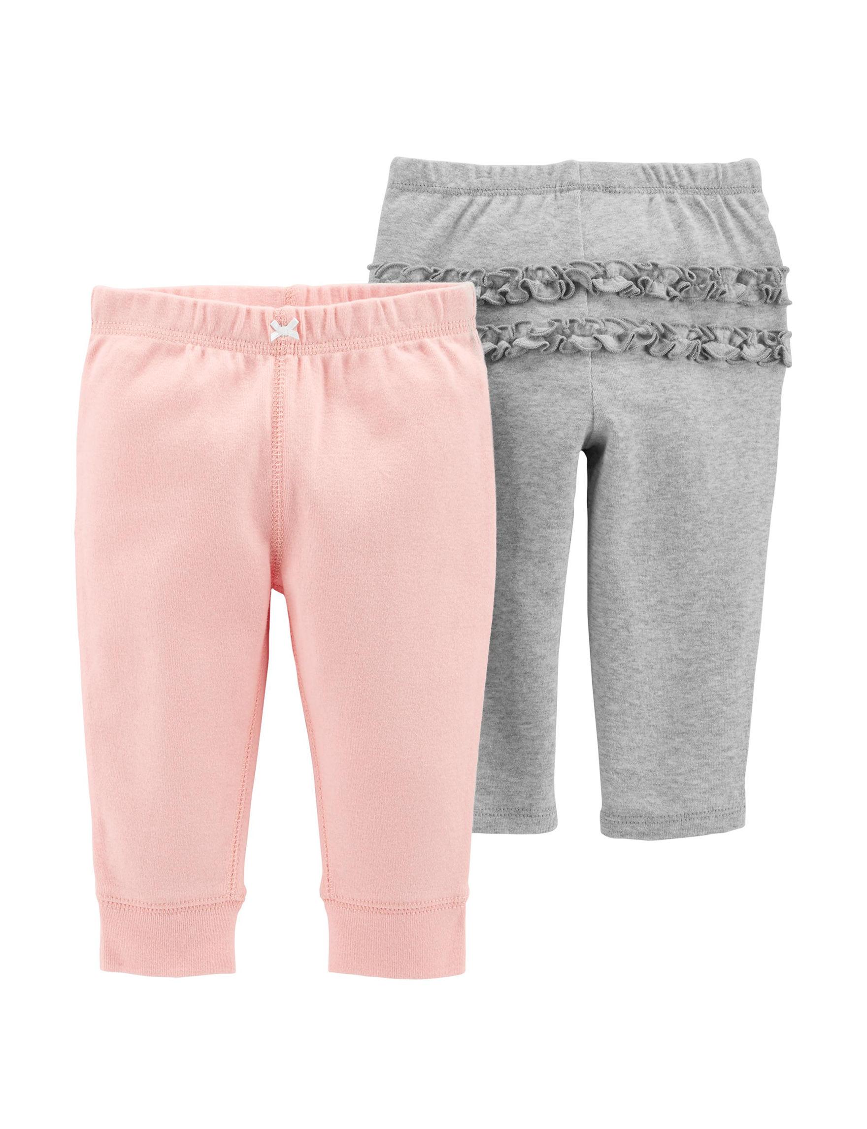 Carter's Grey / Pink