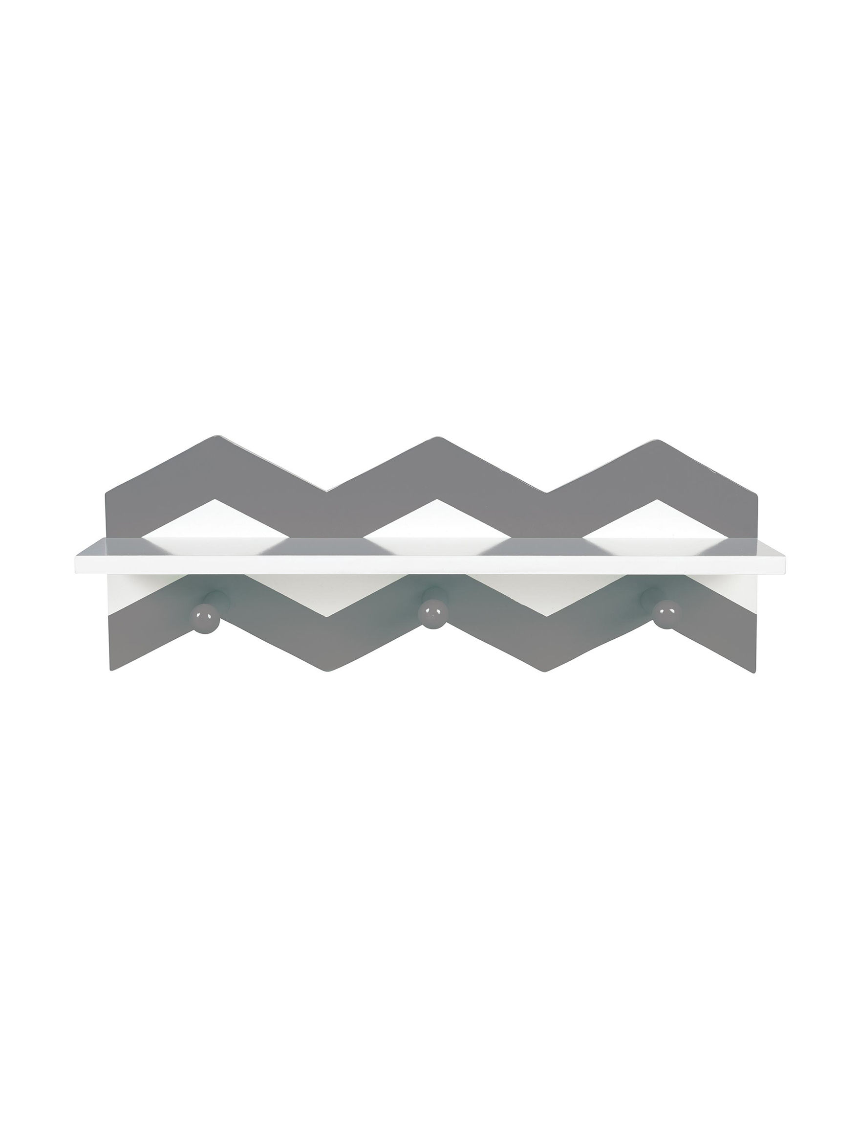 Trend Lab Grey / White Storage & Organization