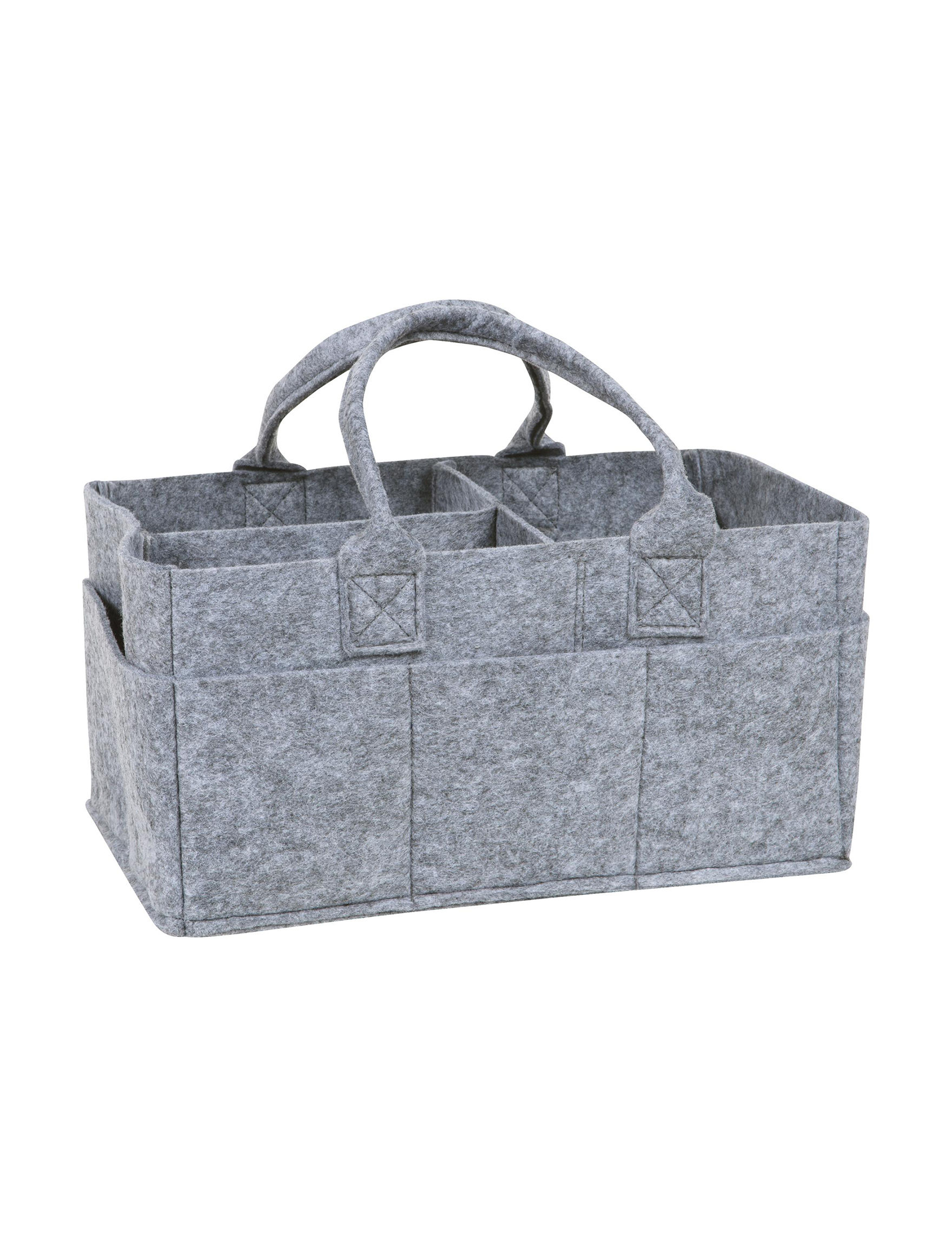 Sammy and Lou Grey Carriers & Totes Storage & Organization