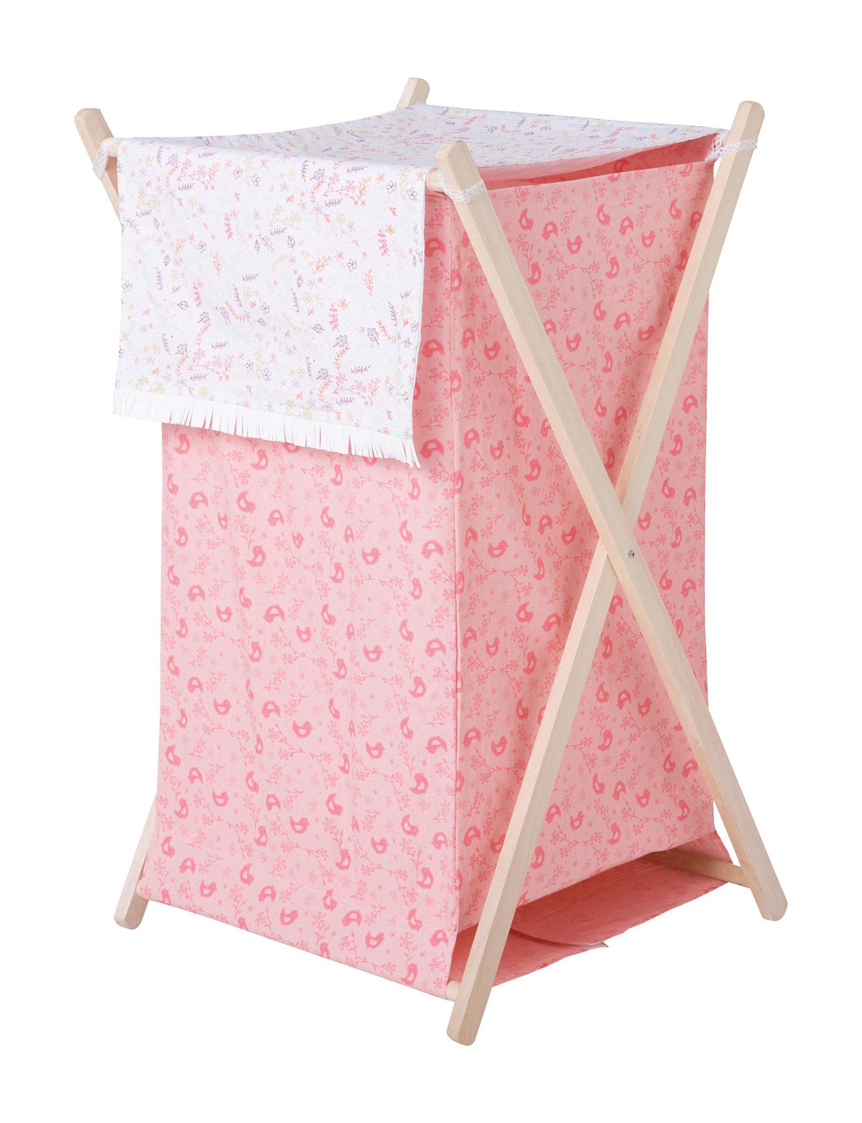 Trend Lab Pink Storage & Organization