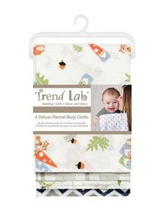 Trend Lab Multi Color Bibs & Burp Cloths