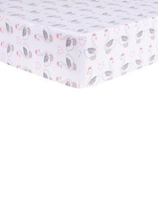 Trend Lab White / Pink / Grey