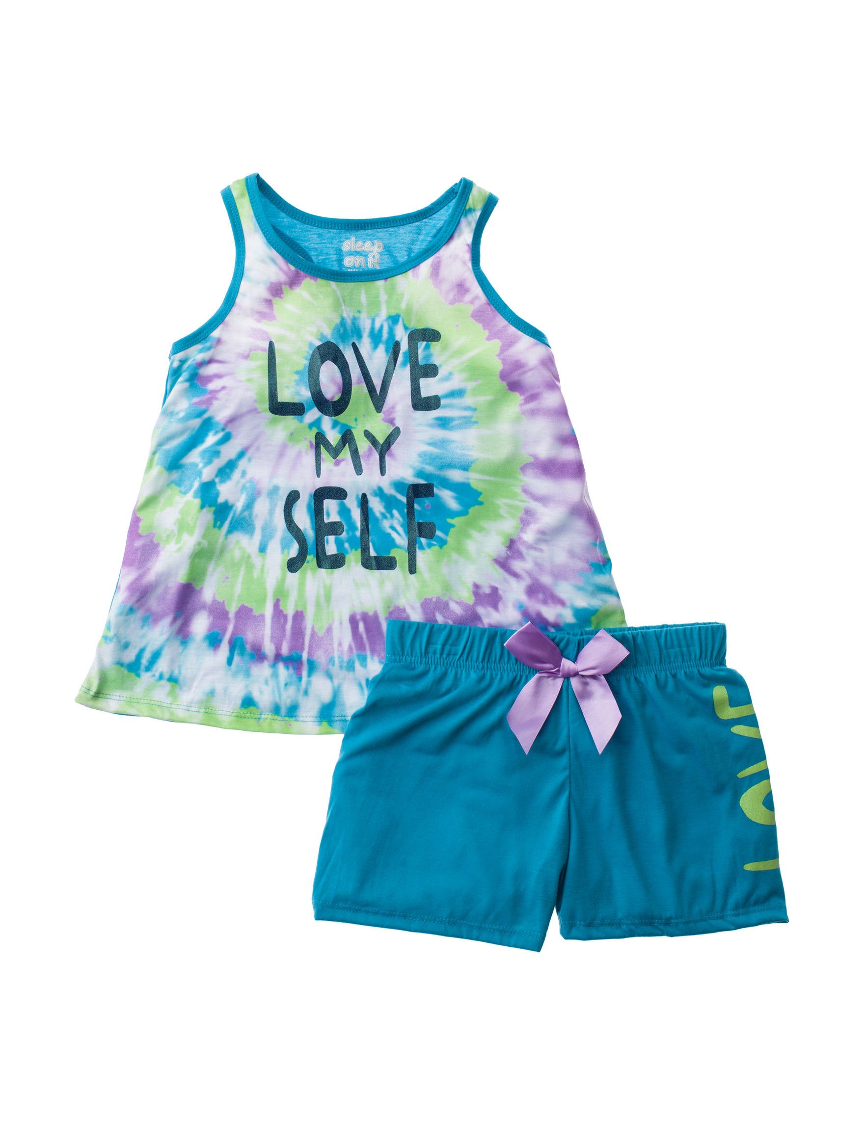 Cloud Nine Blue / Tie Dye Pajama Sets