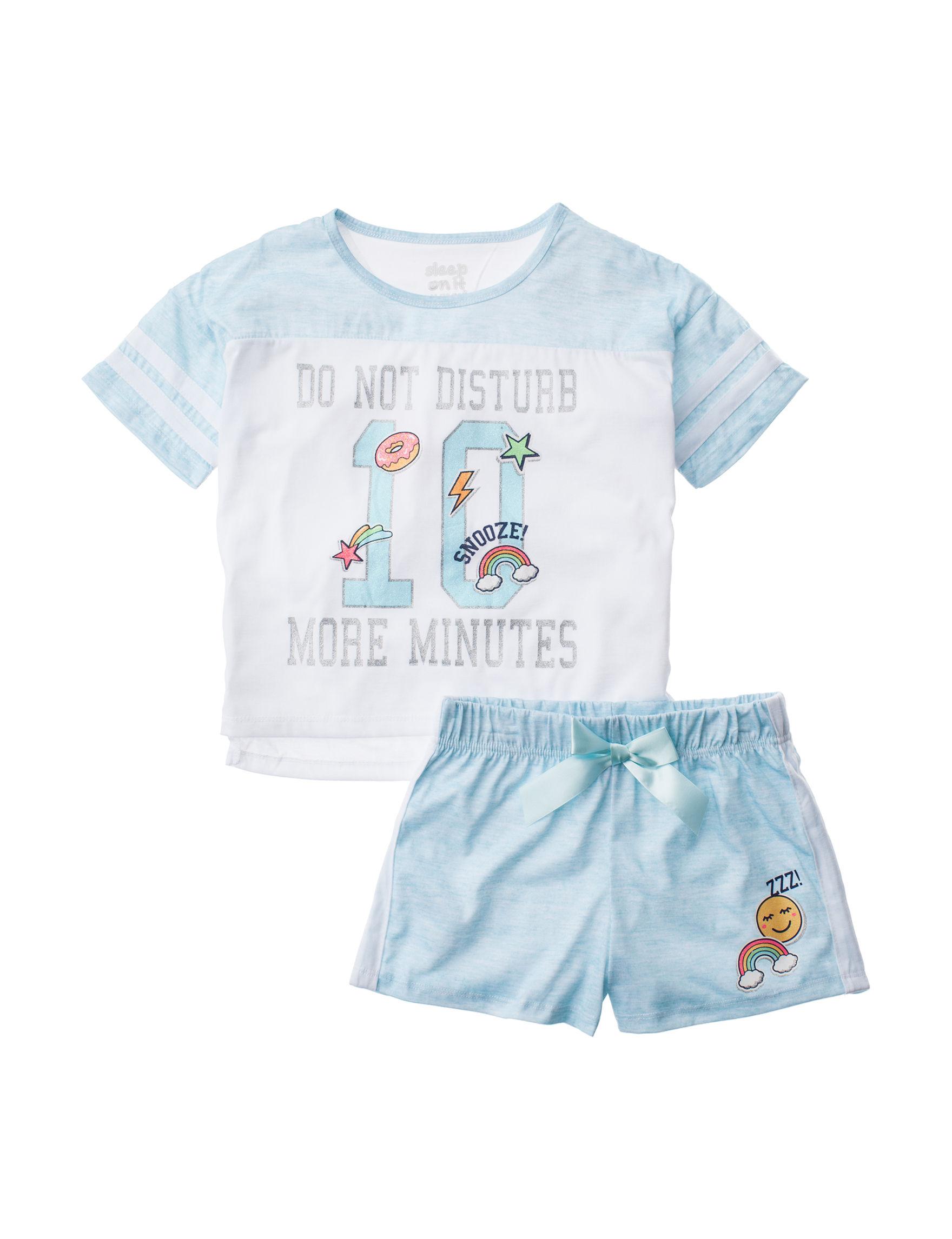 Cloud Nine Blue Pajama Sets