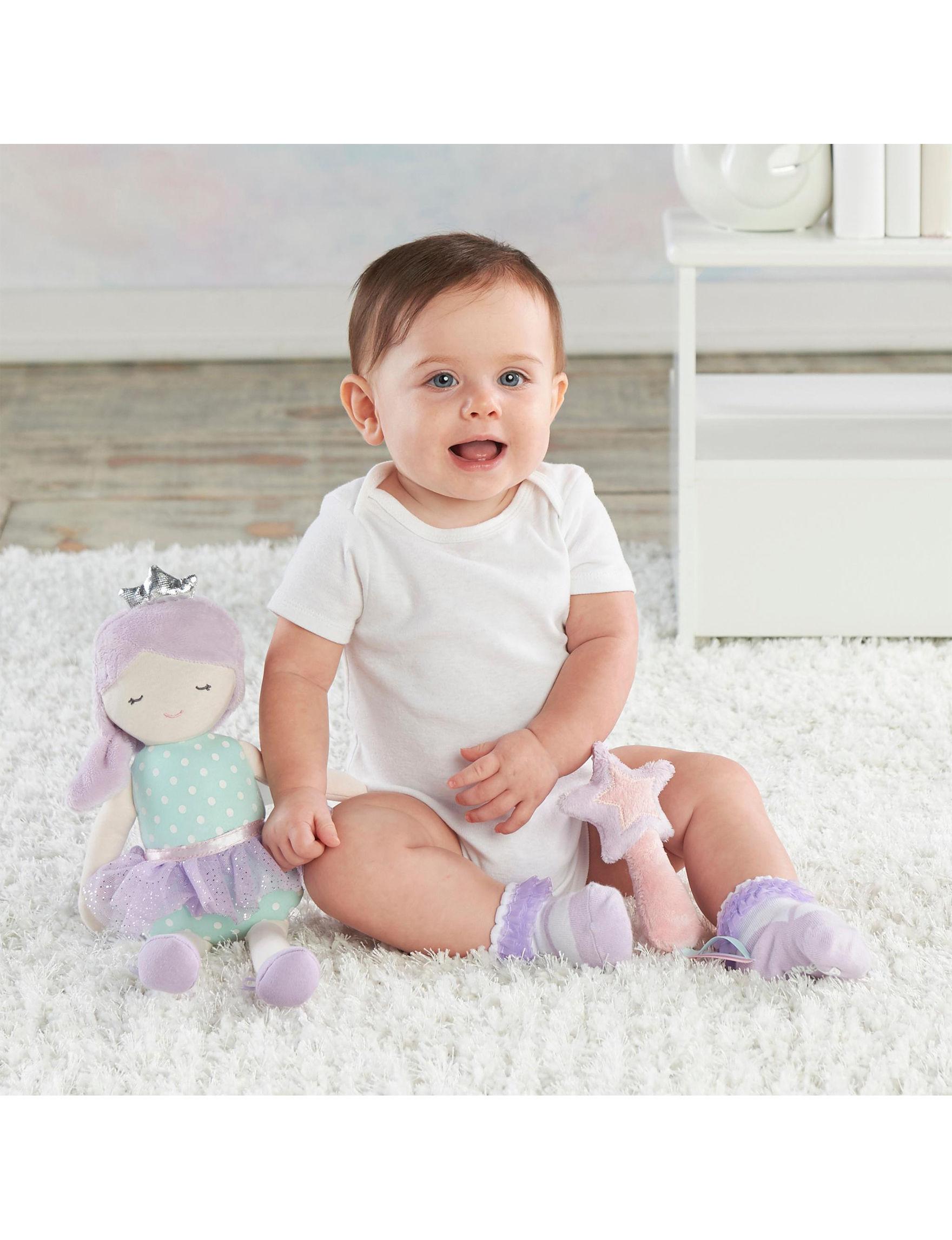 Baby Aspen Purple / White