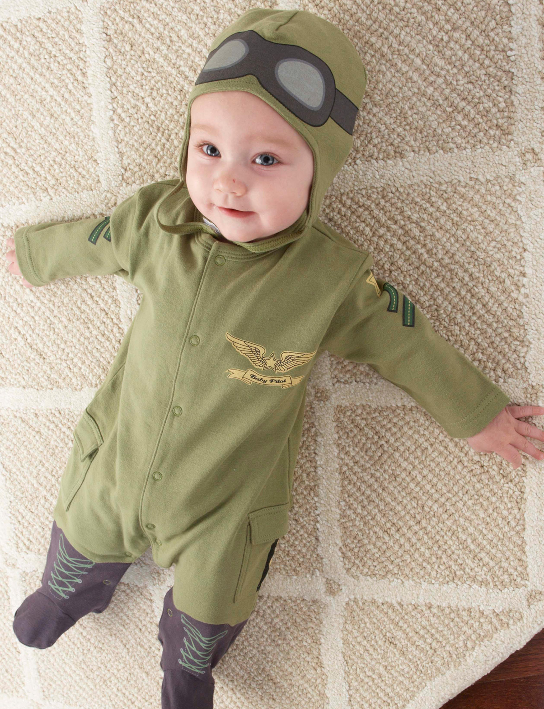Baby Aspen Olive Green