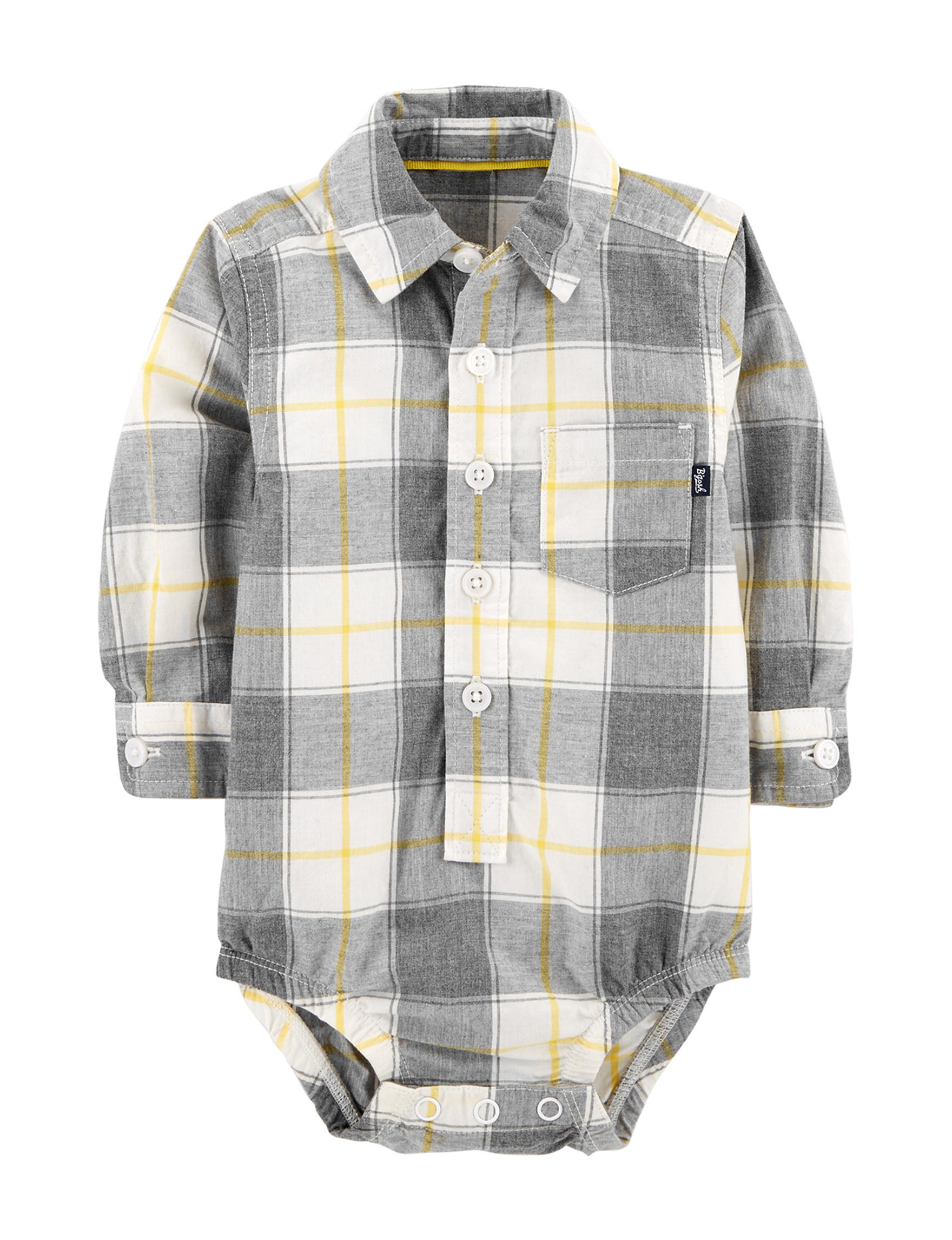 Oshkosh B'Gosh White / Yellow / Black