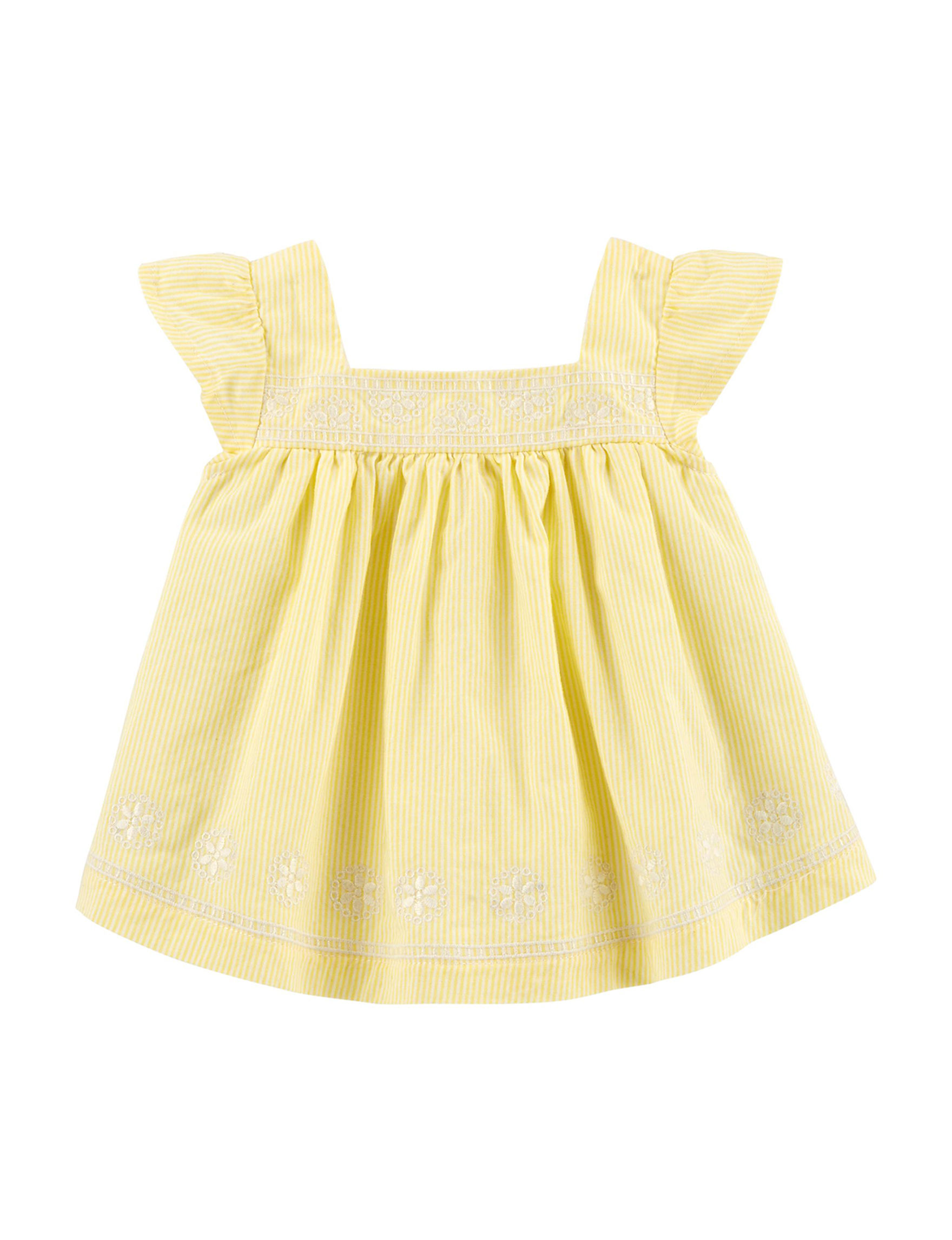 Oshkosh B'Gosh Yellow Stripe
