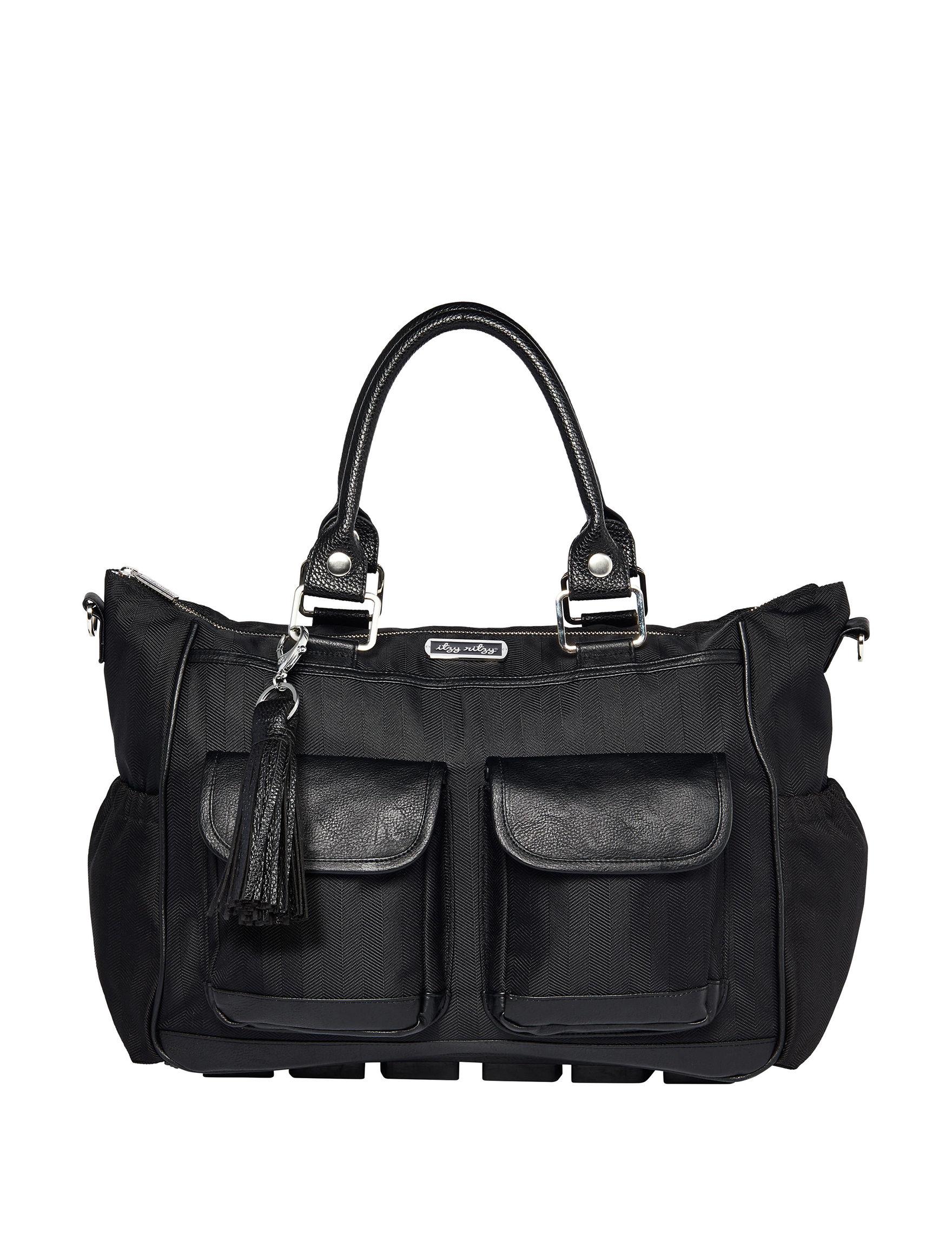 Itzy Ritzy Black Diaper Bags