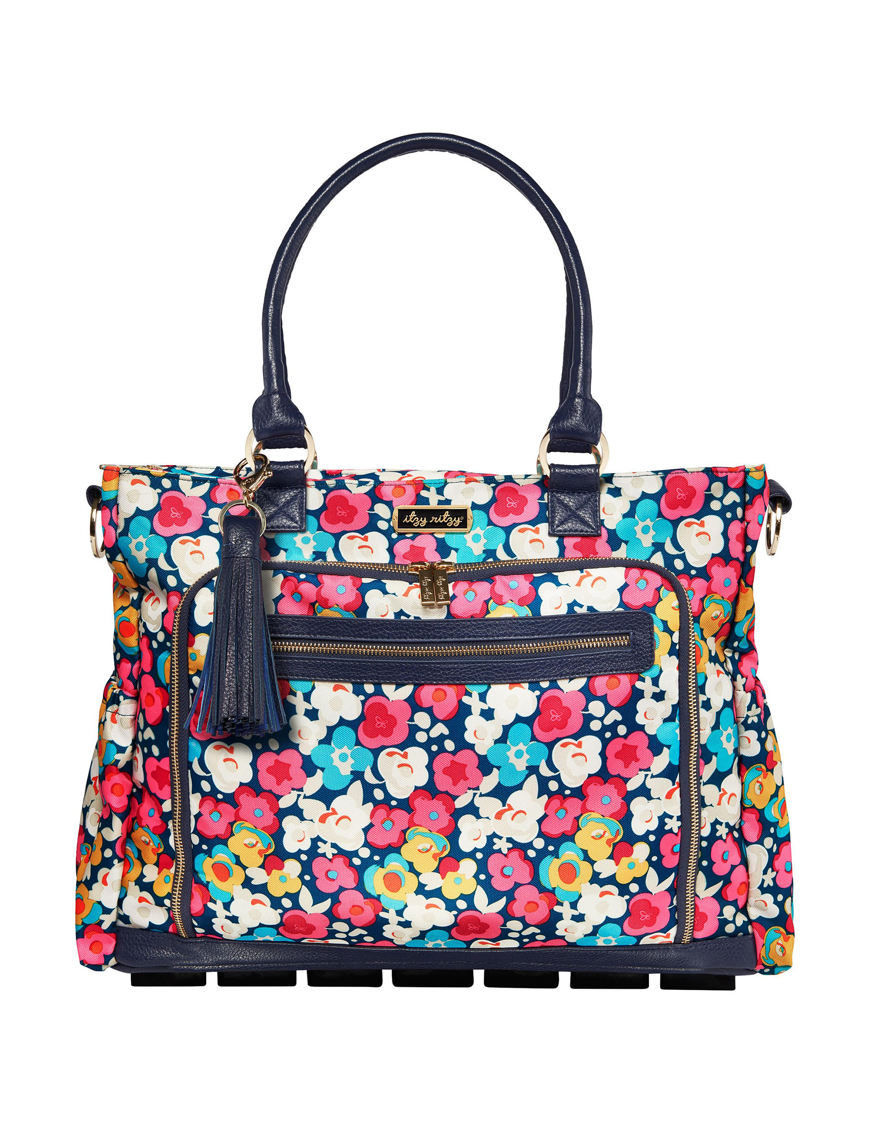 Itzy Ritzy Pink Floral Diaper Bags