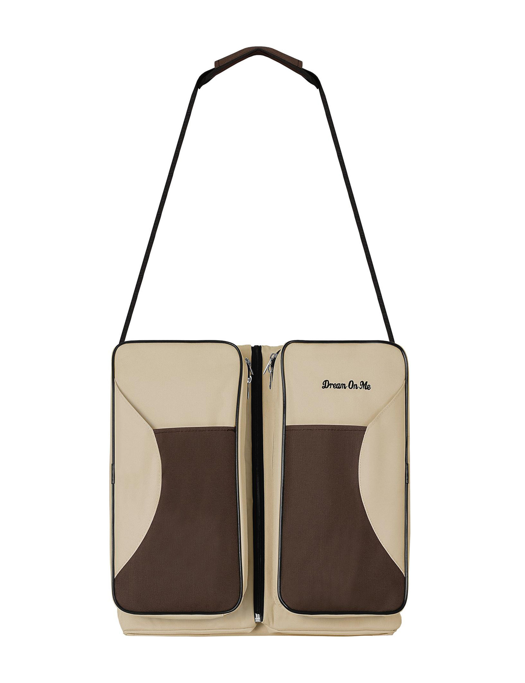 Dream On Me Beige / Brown Carriers & Totes Diaper Bags