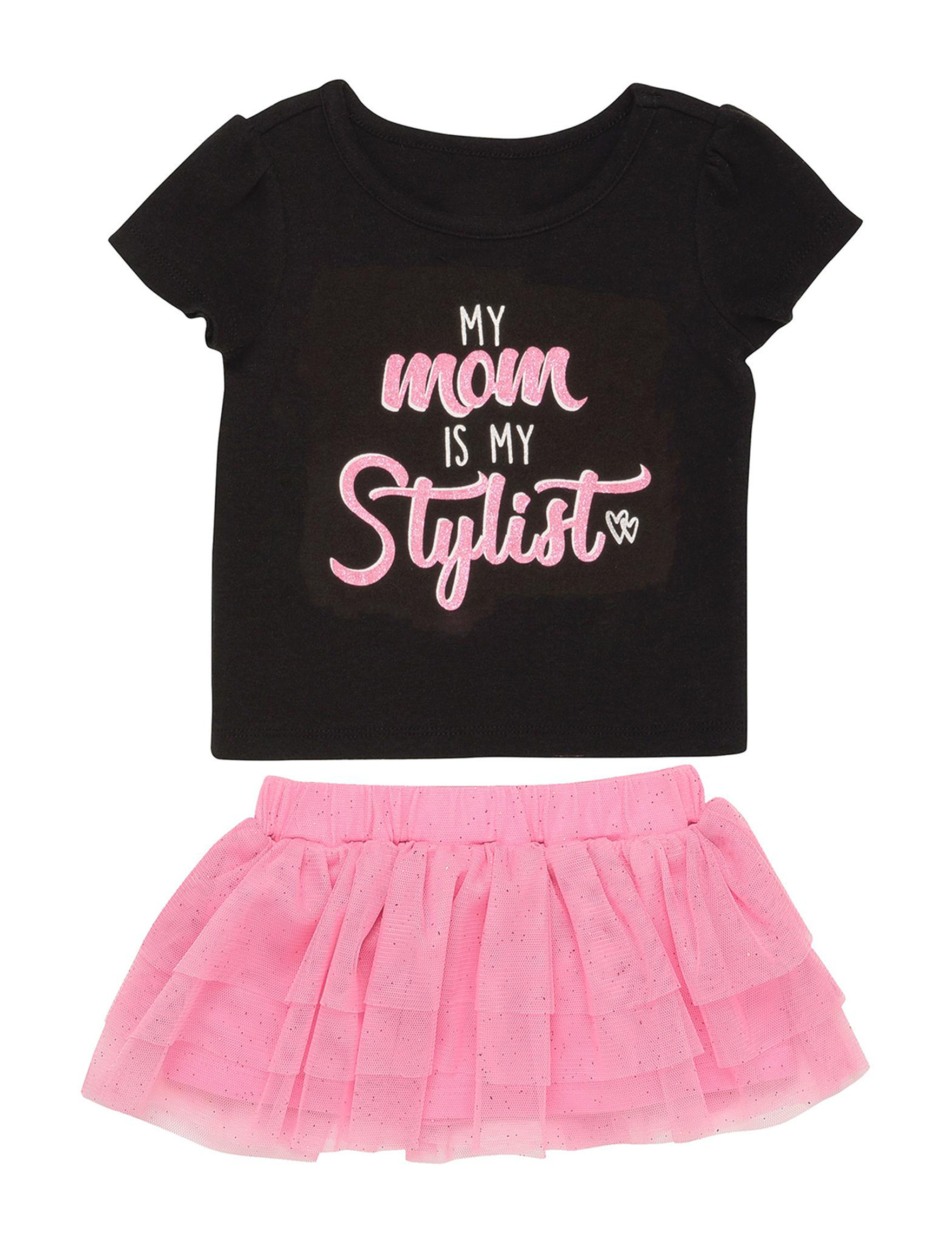 Baby Starters Pink / Black