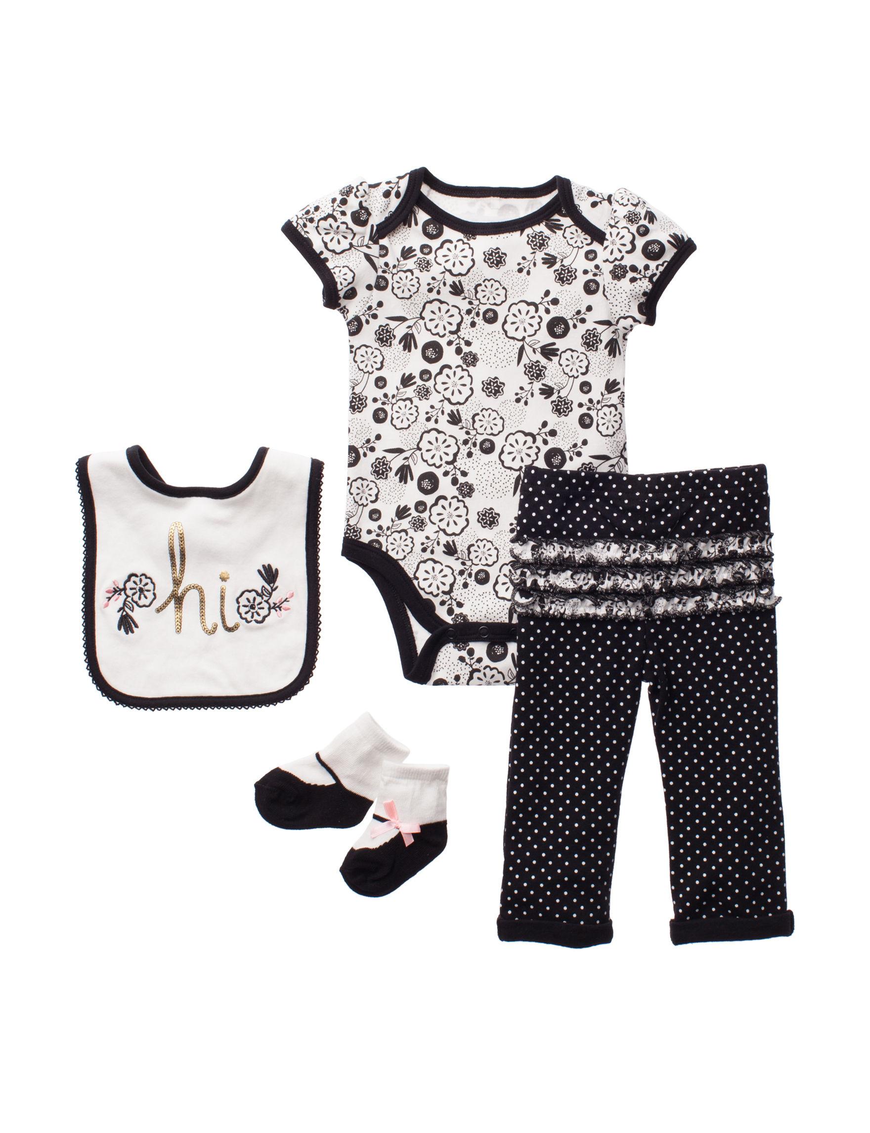 Baby Gear Black / White