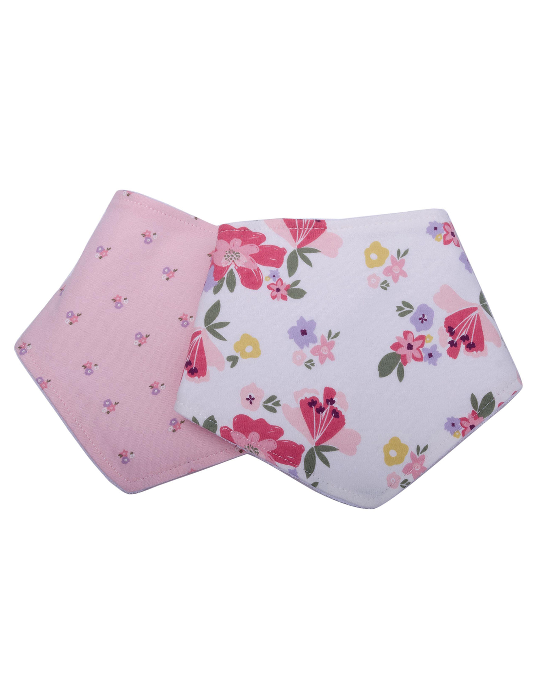 Cutie Pie Pink Bibs & Burp Cloths