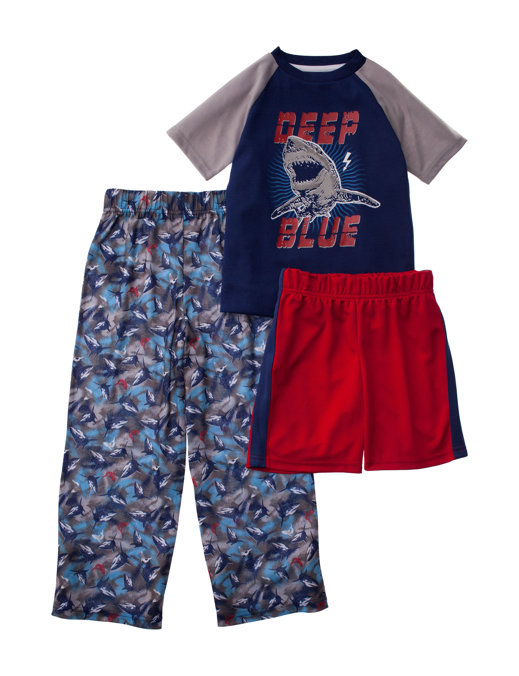 Cloud Nine Blue / Grey Pajama Sets