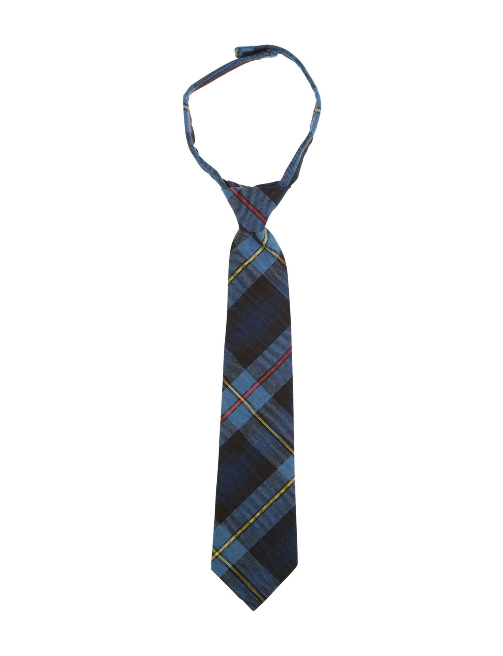 French Toast Navy Plaid