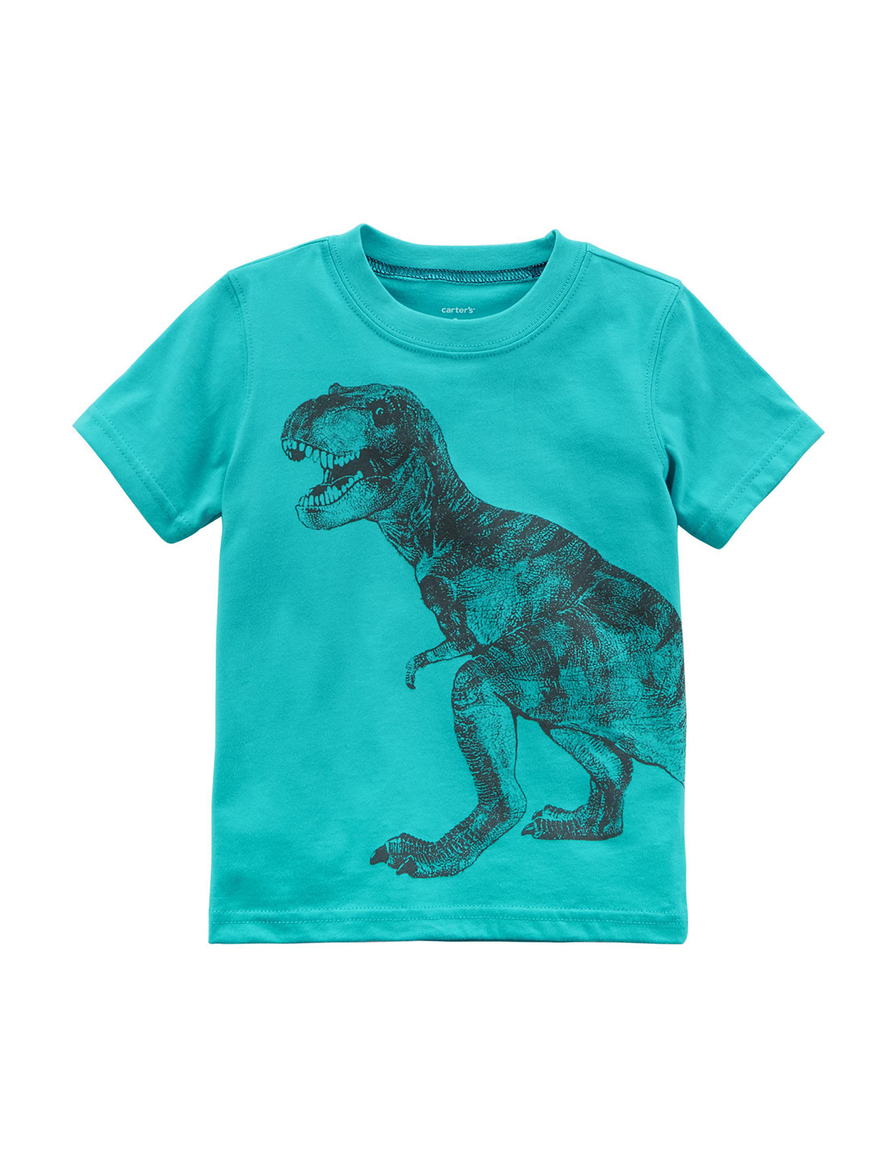 Carter's Turquoise Tees & Tanks