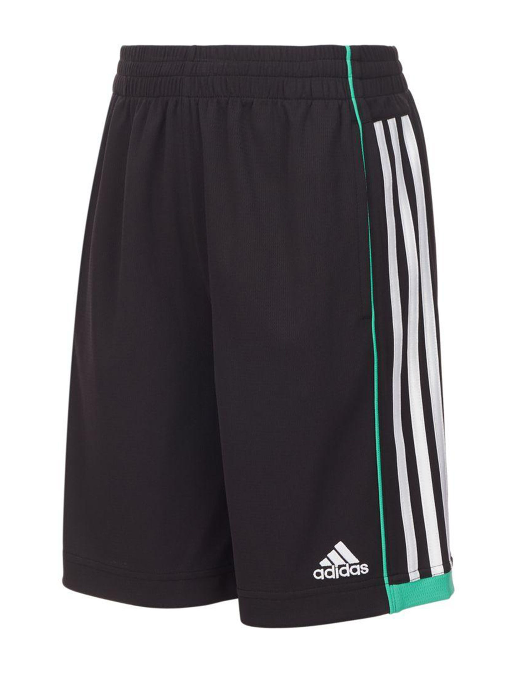 Adidas Black / Green Soft Shorts