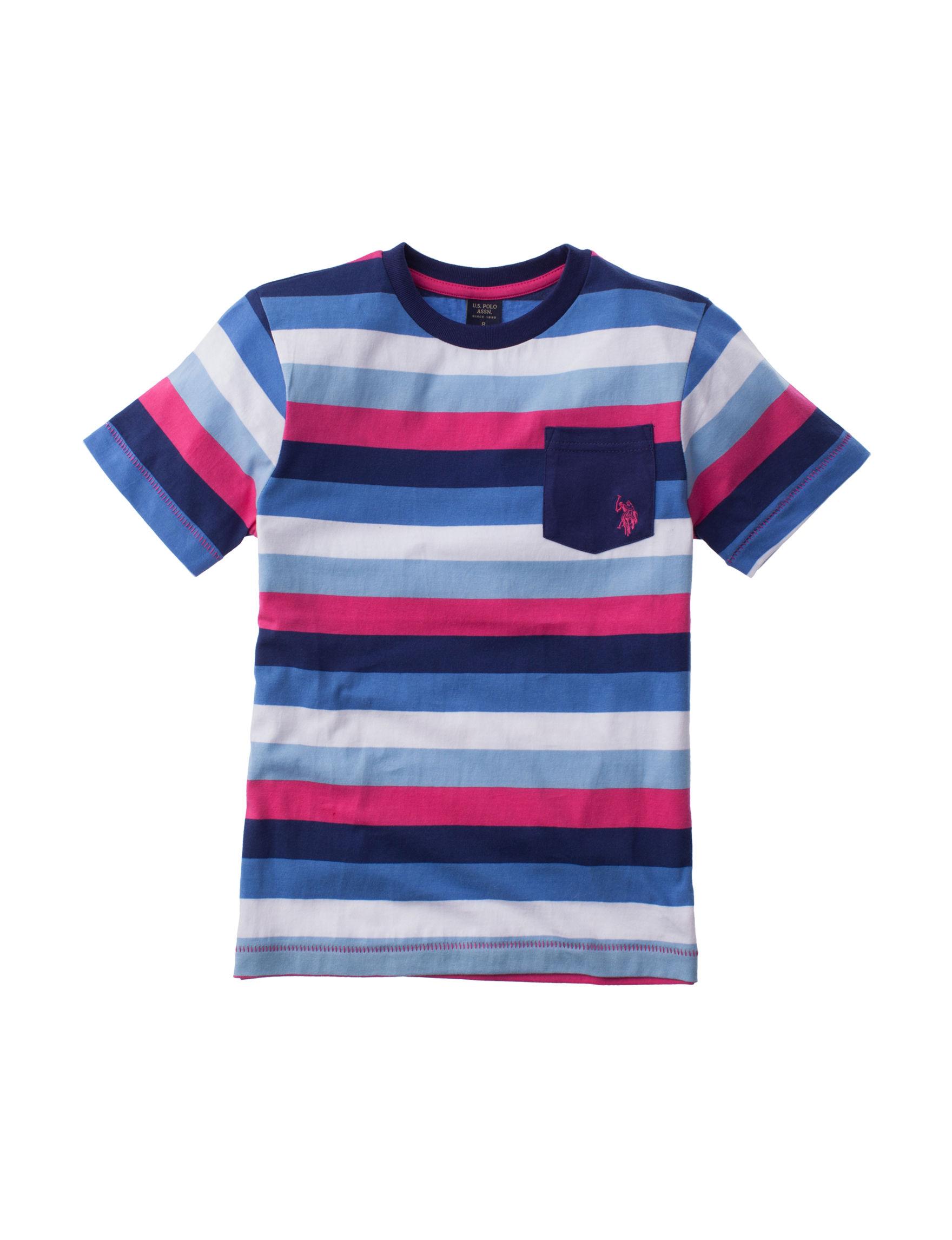 U.S. Polo Assn. Pink Stripe