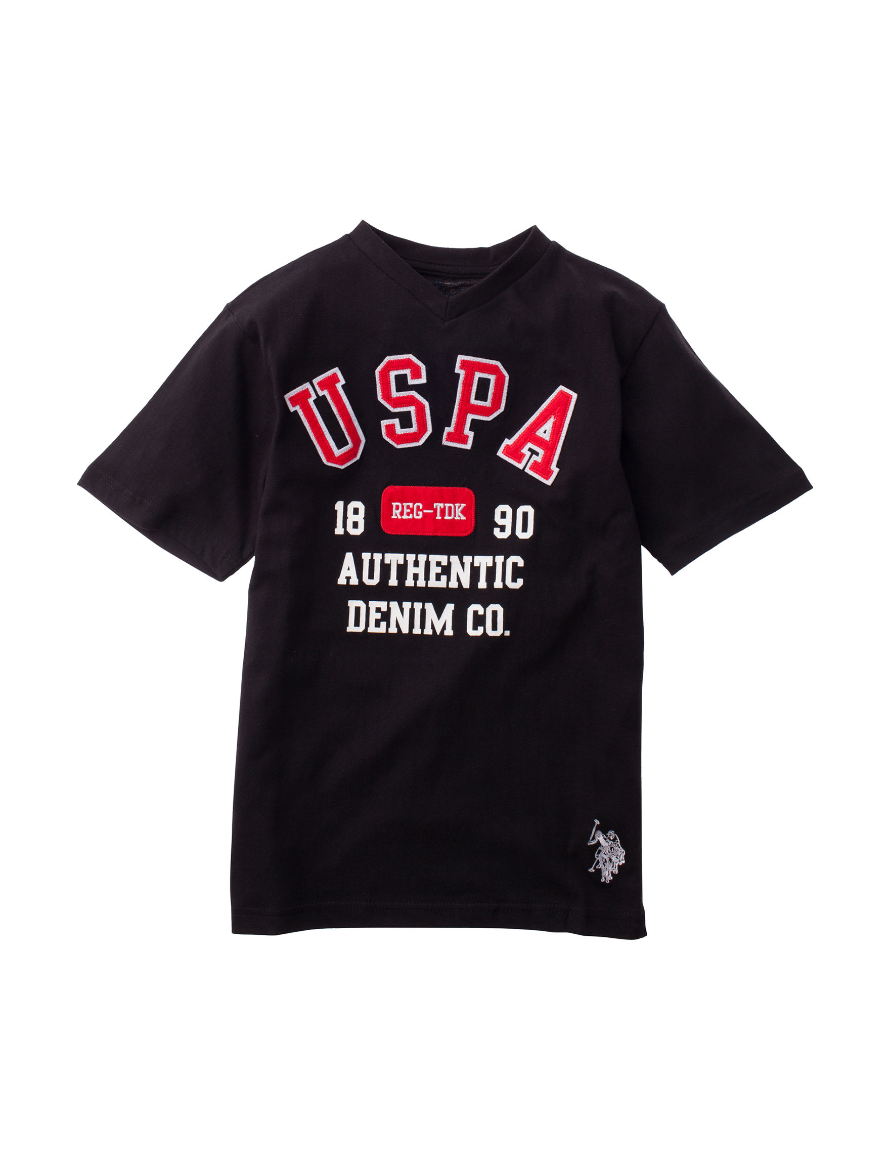 U.S. Polo Assn. Black Tees & Tanks