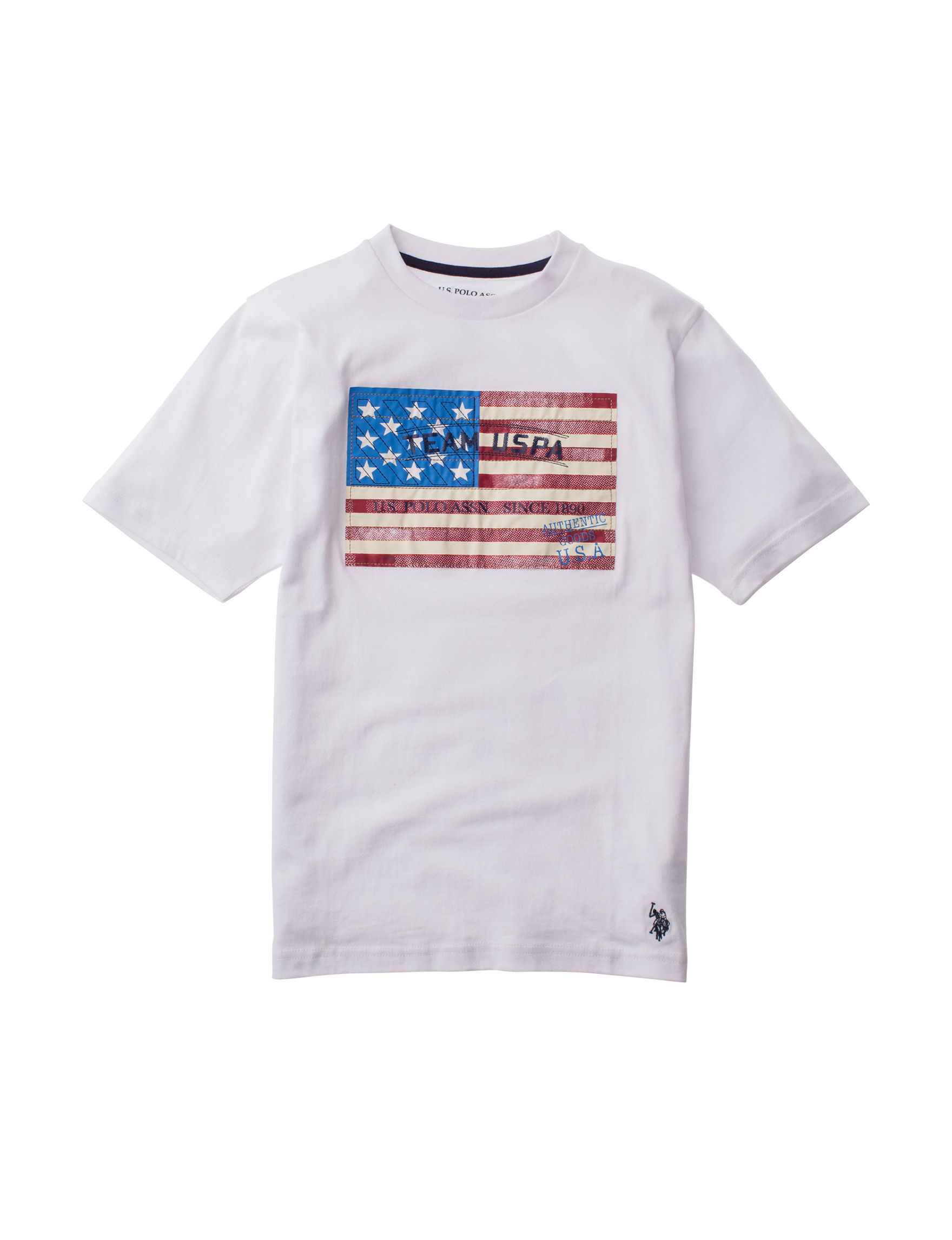 U.S. Polo Assn. White Tees & Tanks