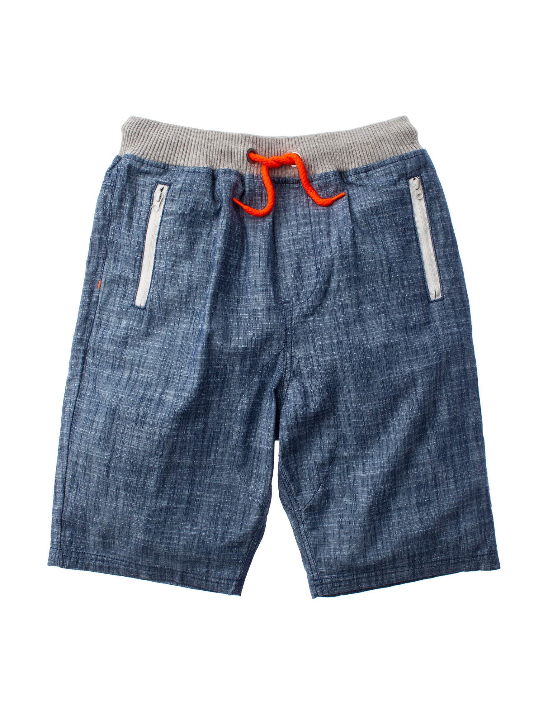Rustic Blue Chambray Soft Shorts