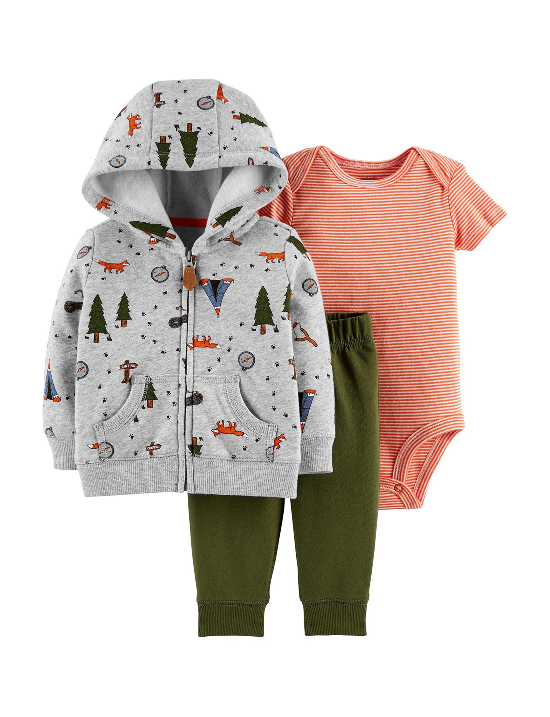 95cc4843a Carter's 3-pc. Camp Hooded Jacket, Bodysuit & Pants Set - Baby 3-18 Mos.