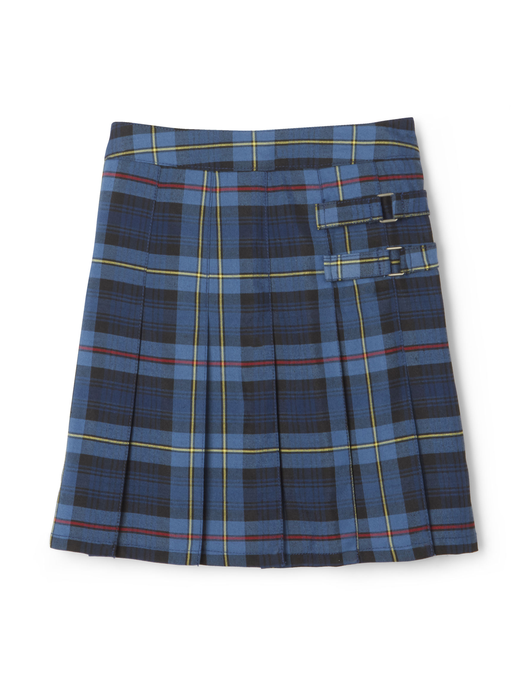 French Toast Blue/Red Plaid Skorts