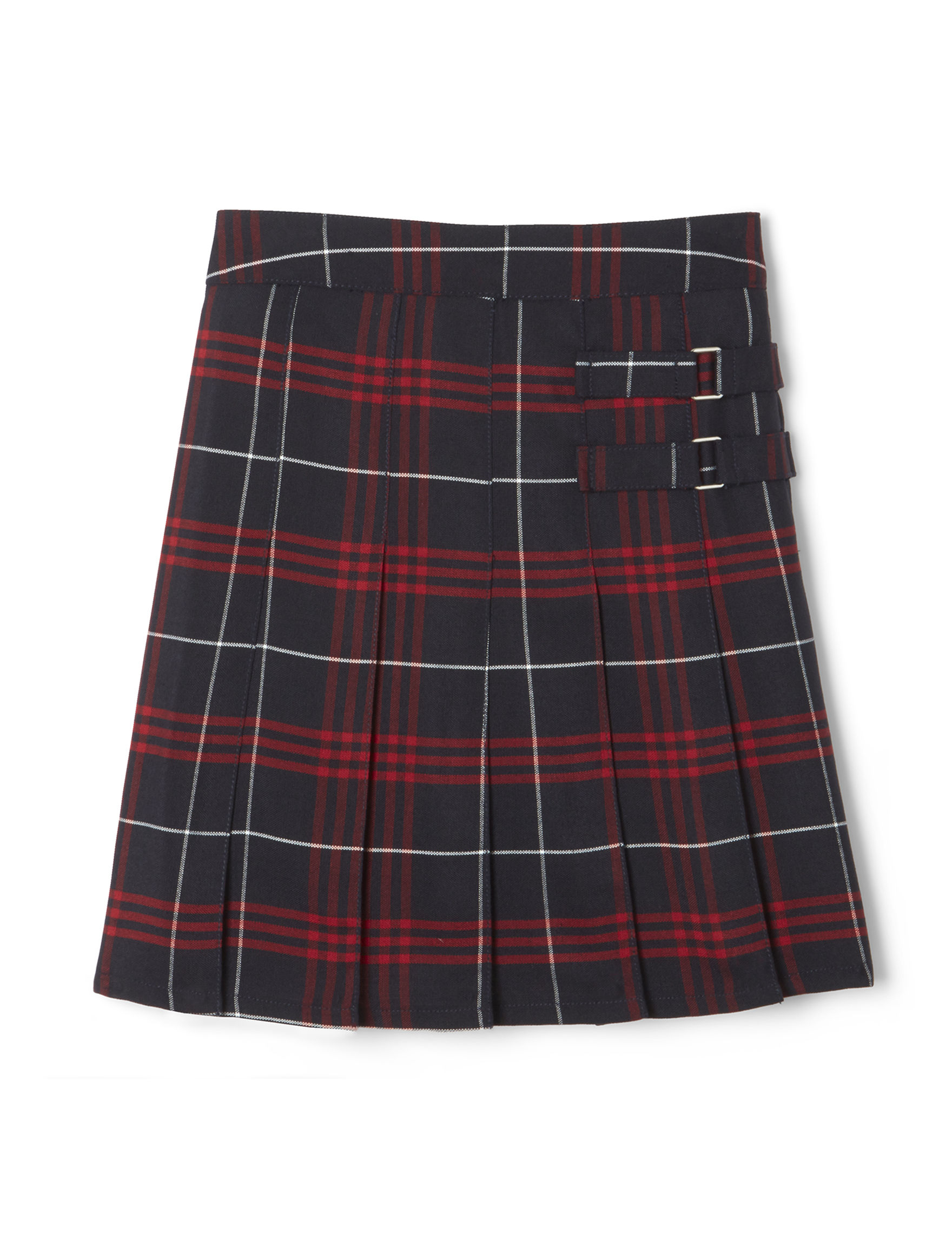 French Toast Red Plaid Skorts