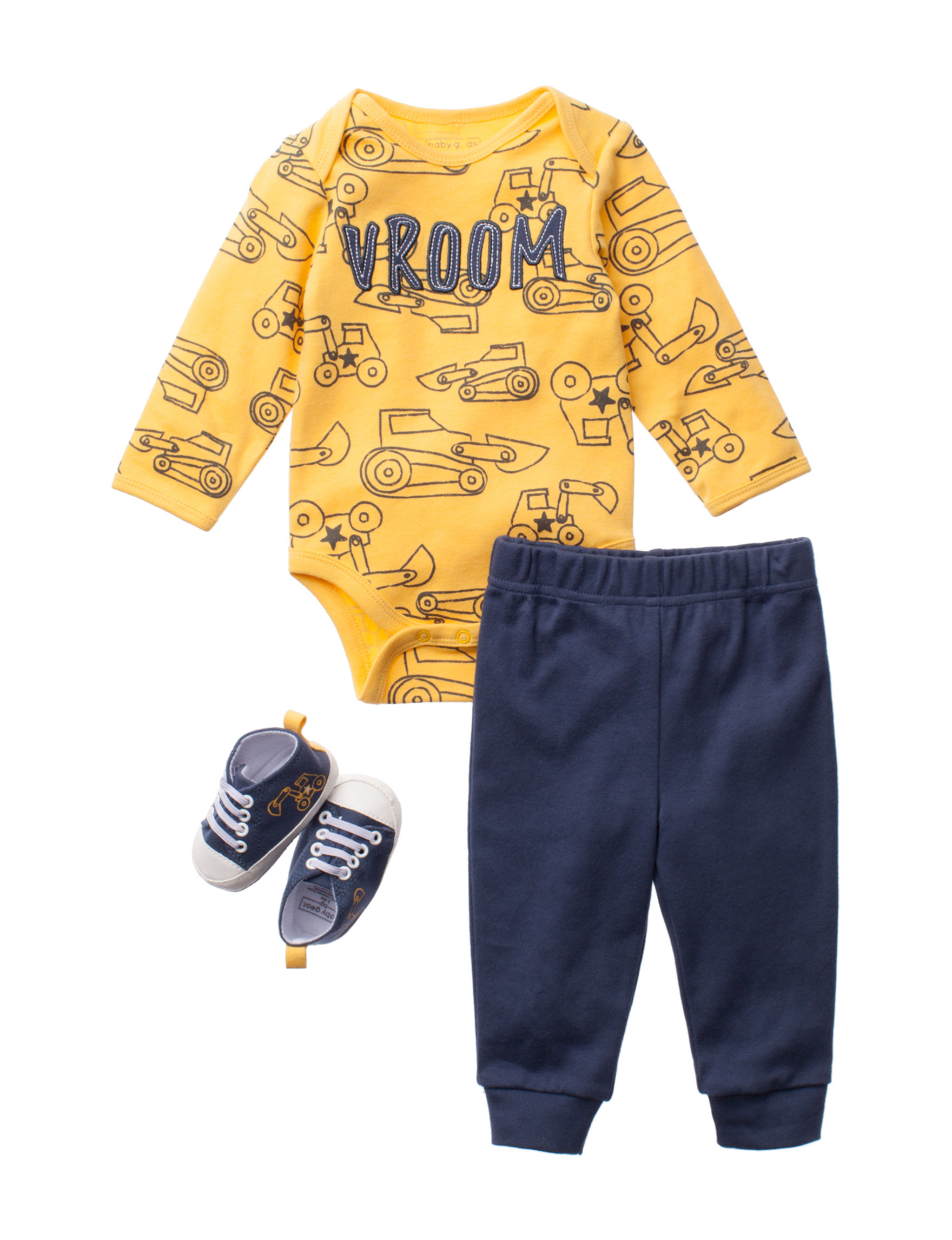 Baby Gear Yellow / Blue