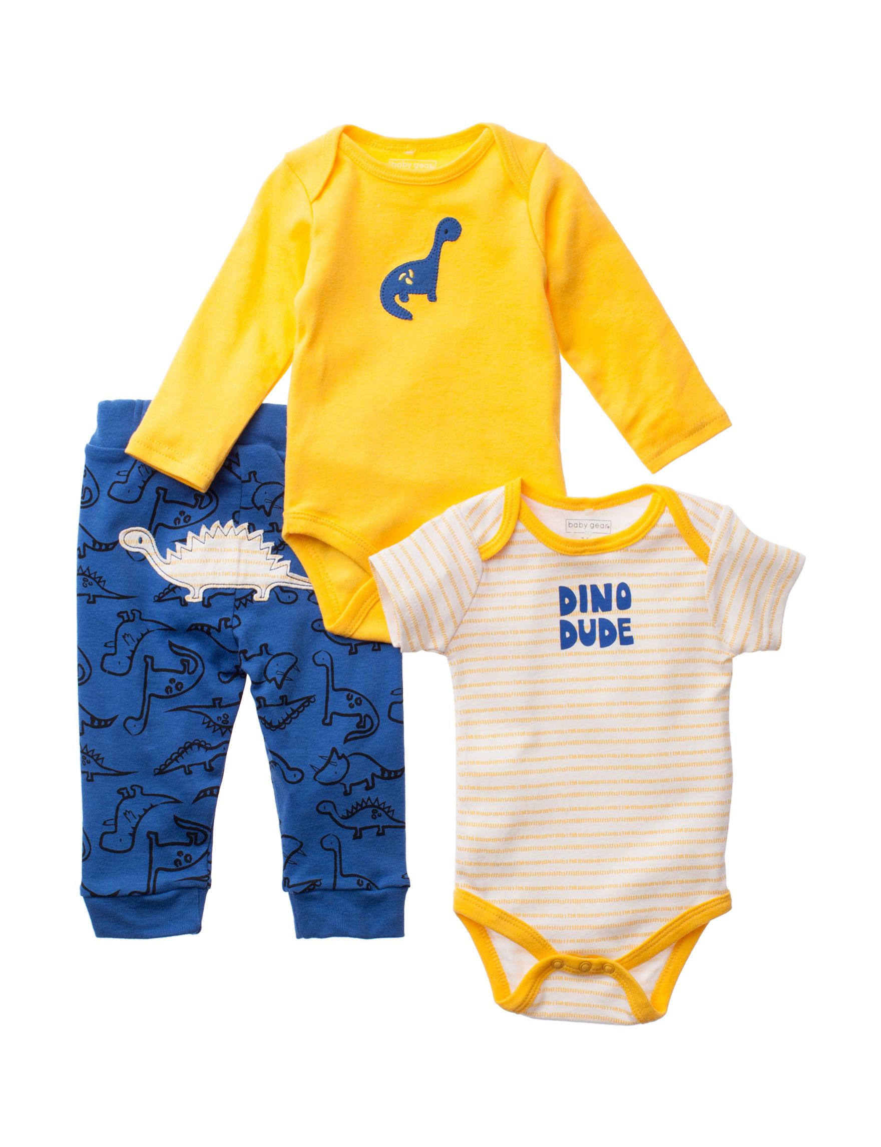 Baby Gear Yellow / Blue