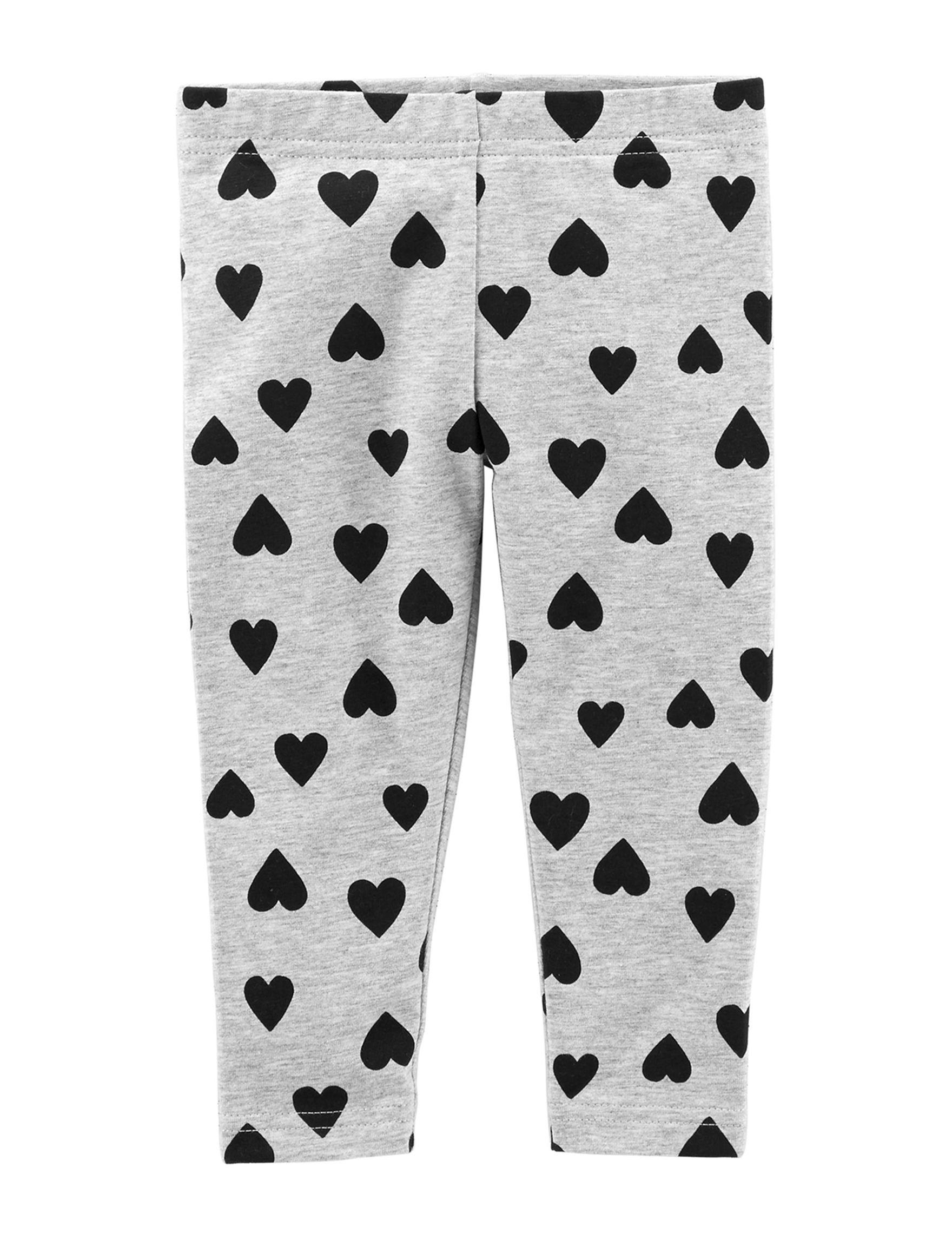 Carter's Grey / Black Leggings