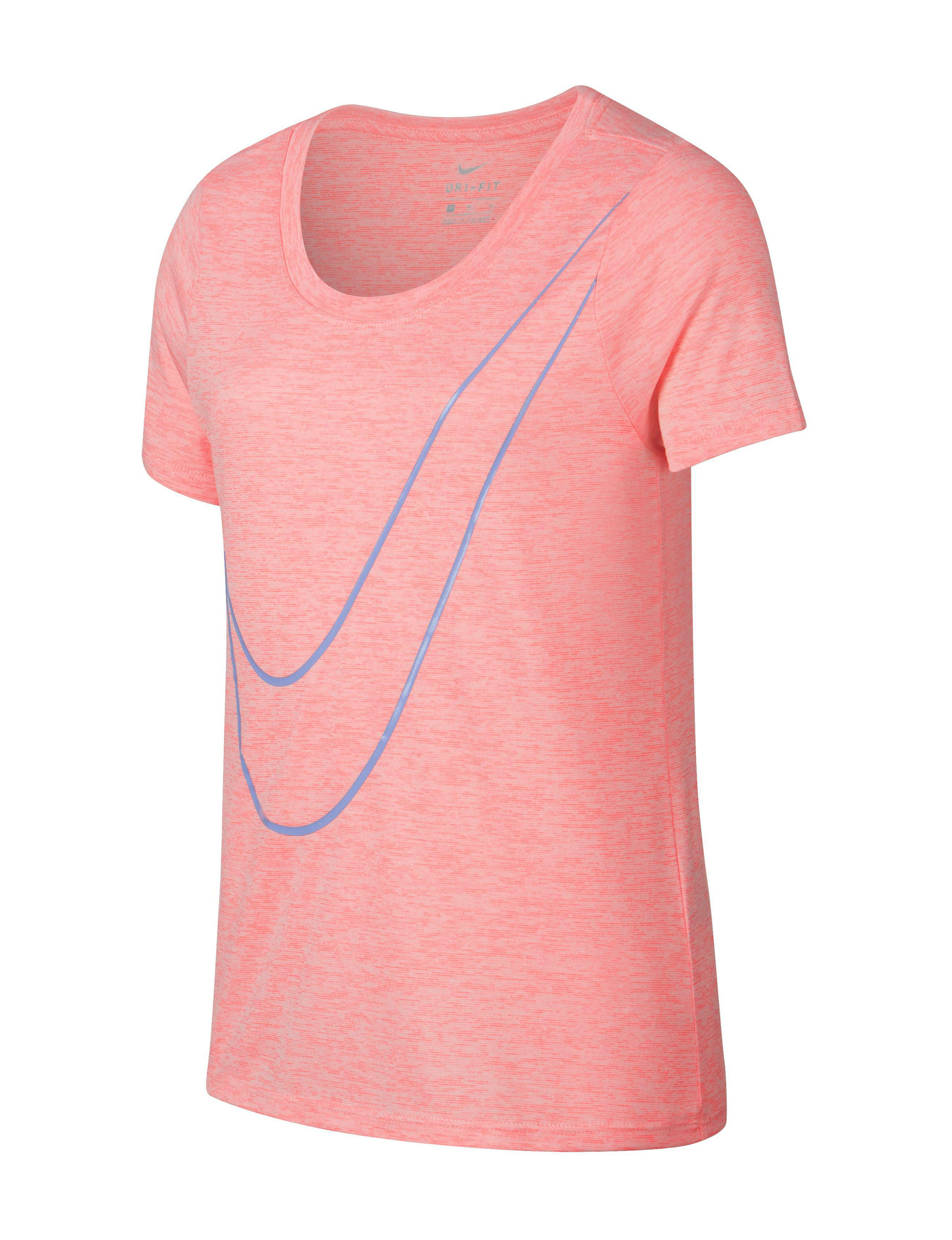 Nike Light Red Tees & Tanks