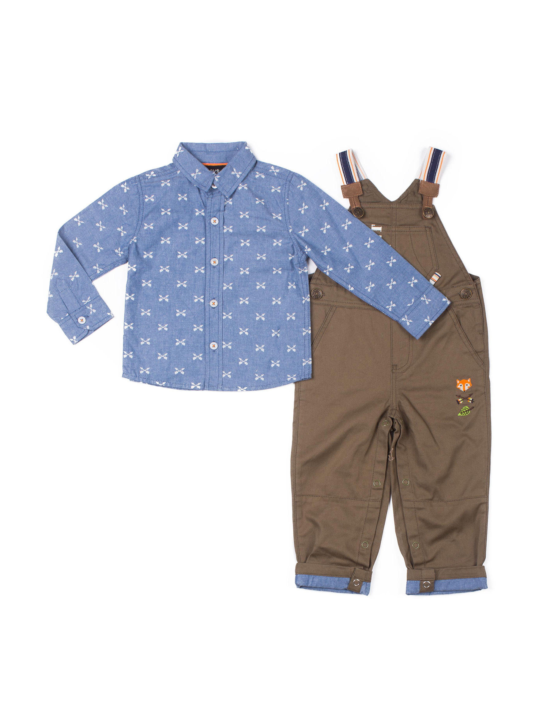 Boys Rock Chambray / Olive
