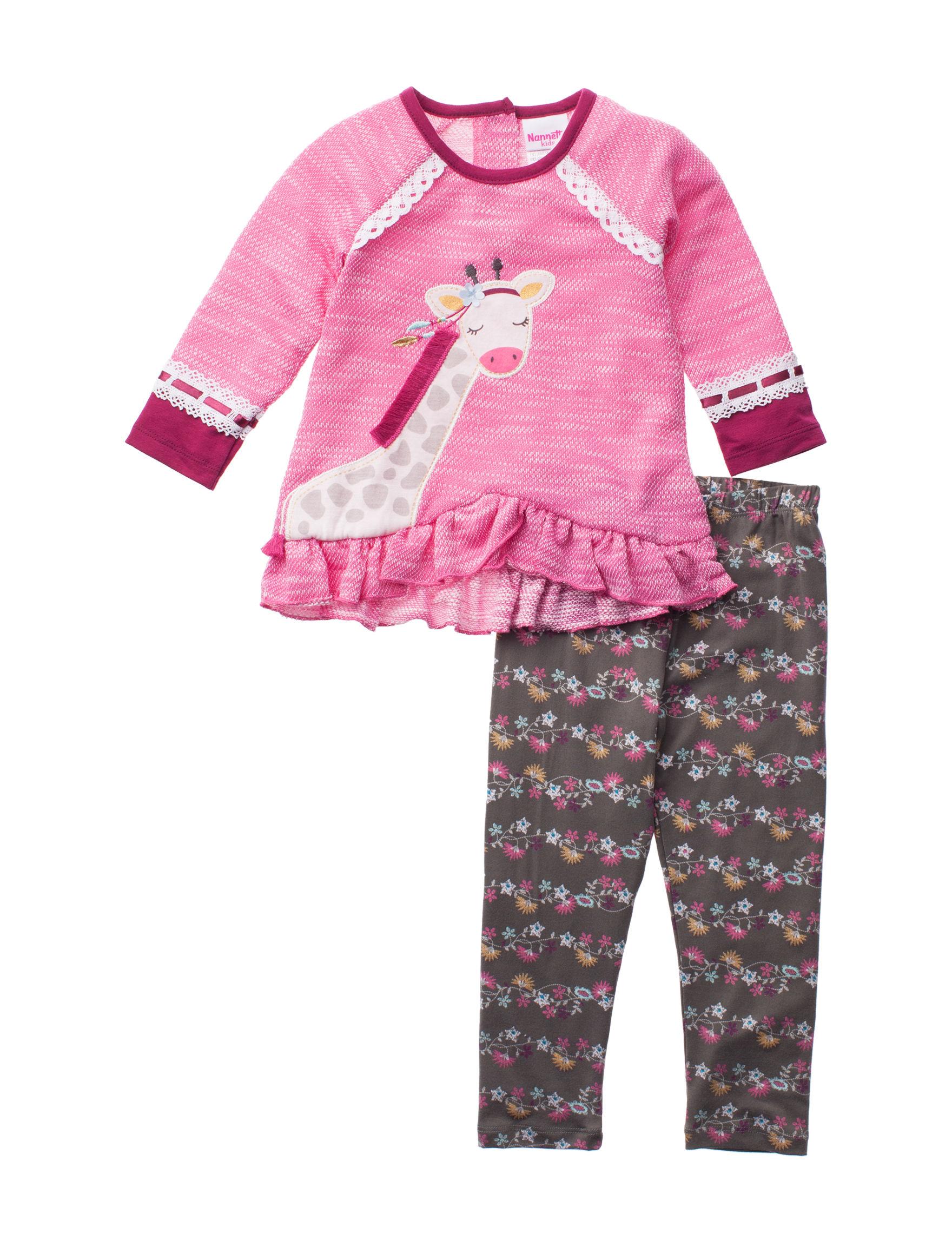 Nannette Pink Multi