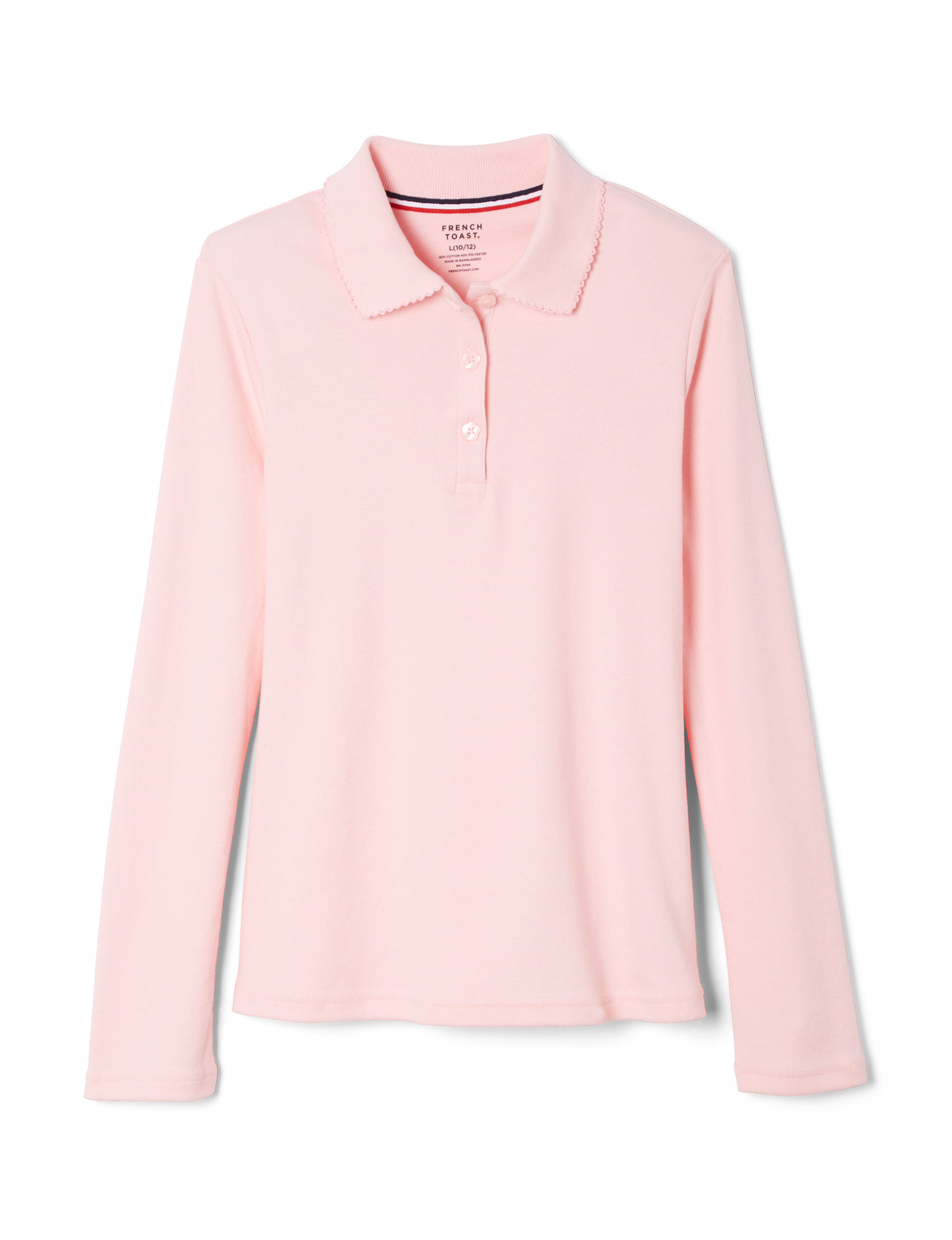 French Toast Pink Polos