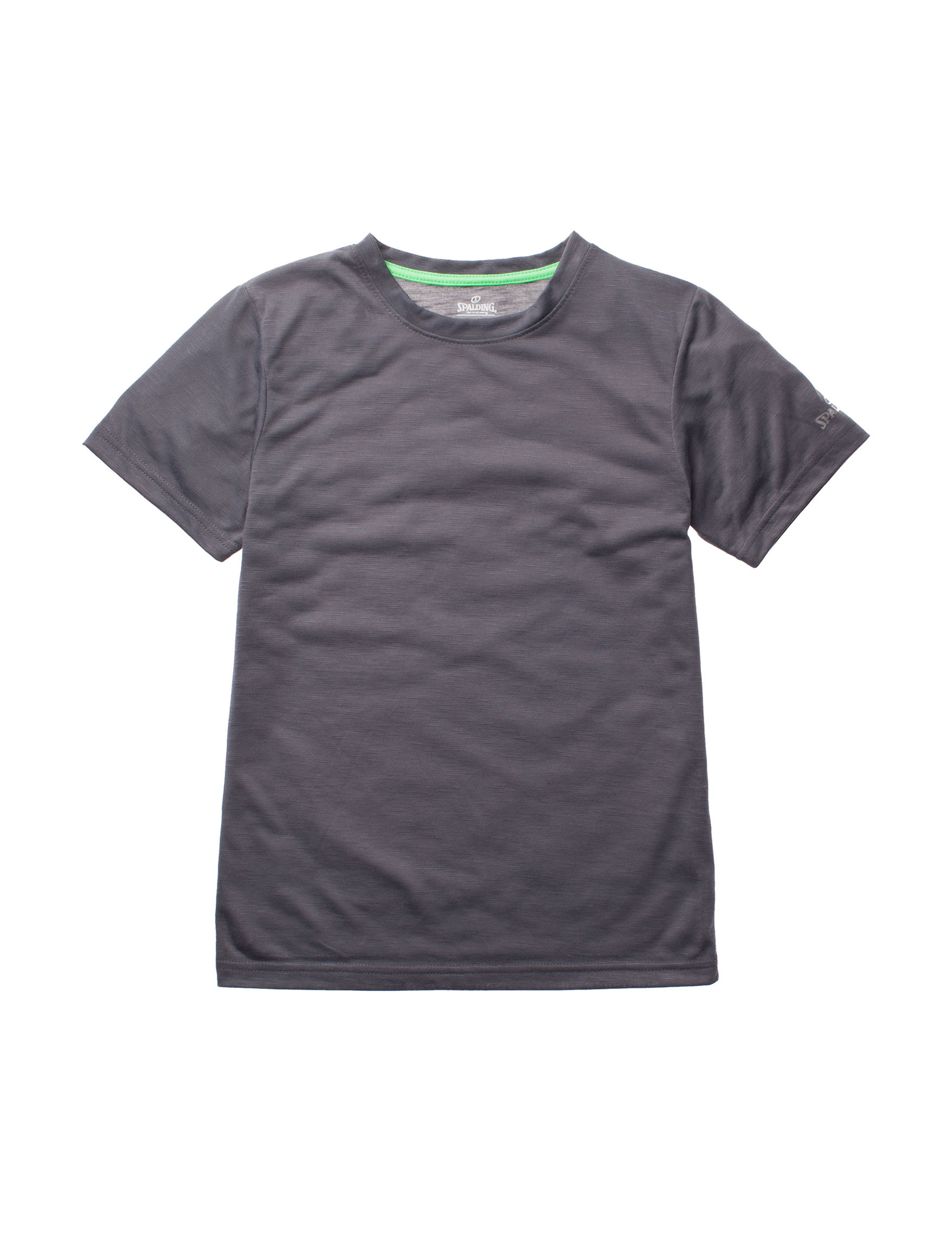 Spalding Charcoal Tees & Tanks