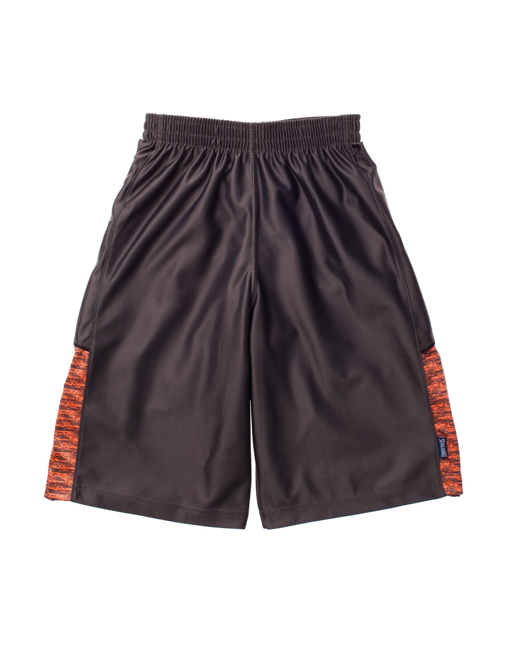 Spalding Grey Soft Shorts